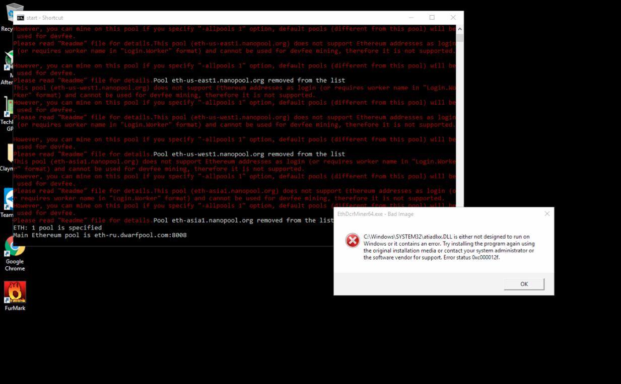 atiadlxx dll error / Please help — Ethereum Community Forum