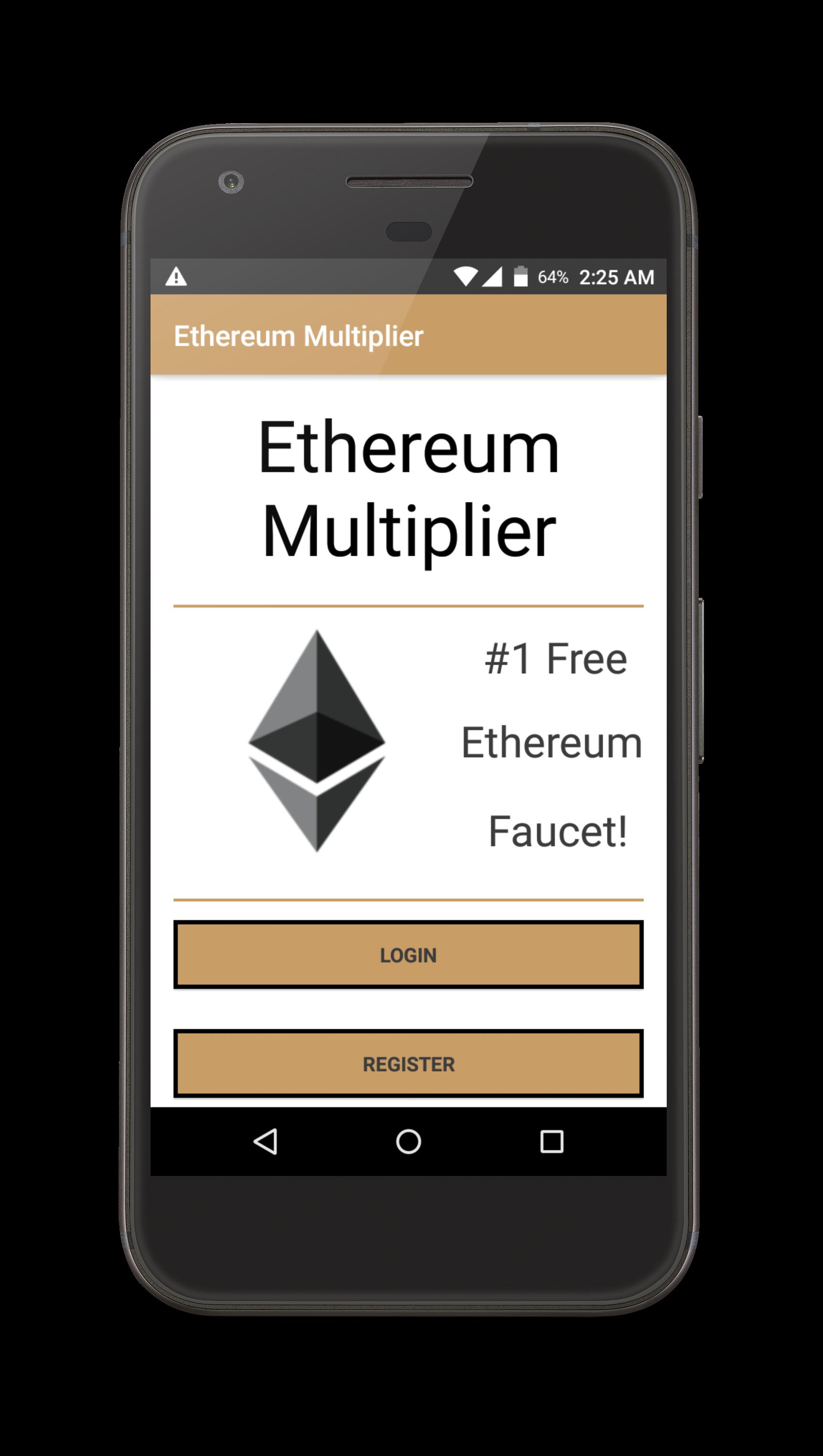 Ethereum Multiplier Android App Faucet — Ethereum Community