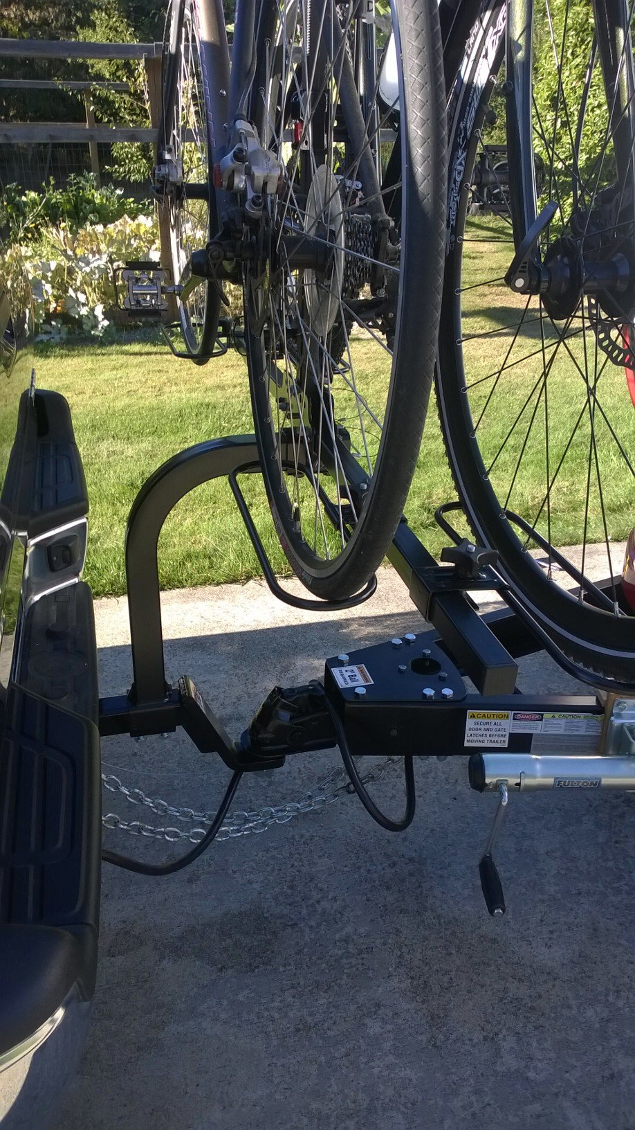 Swagman Rv Bike Rack On 2 Quot Extended Towing Bar With T B