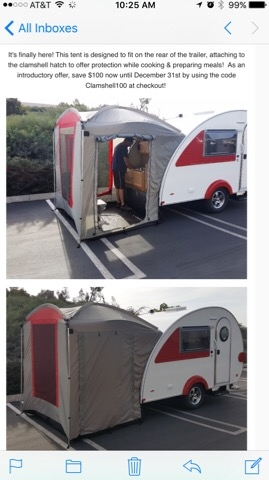 & New Paha Que T@B Clamshell Tent at Teardropshop.com