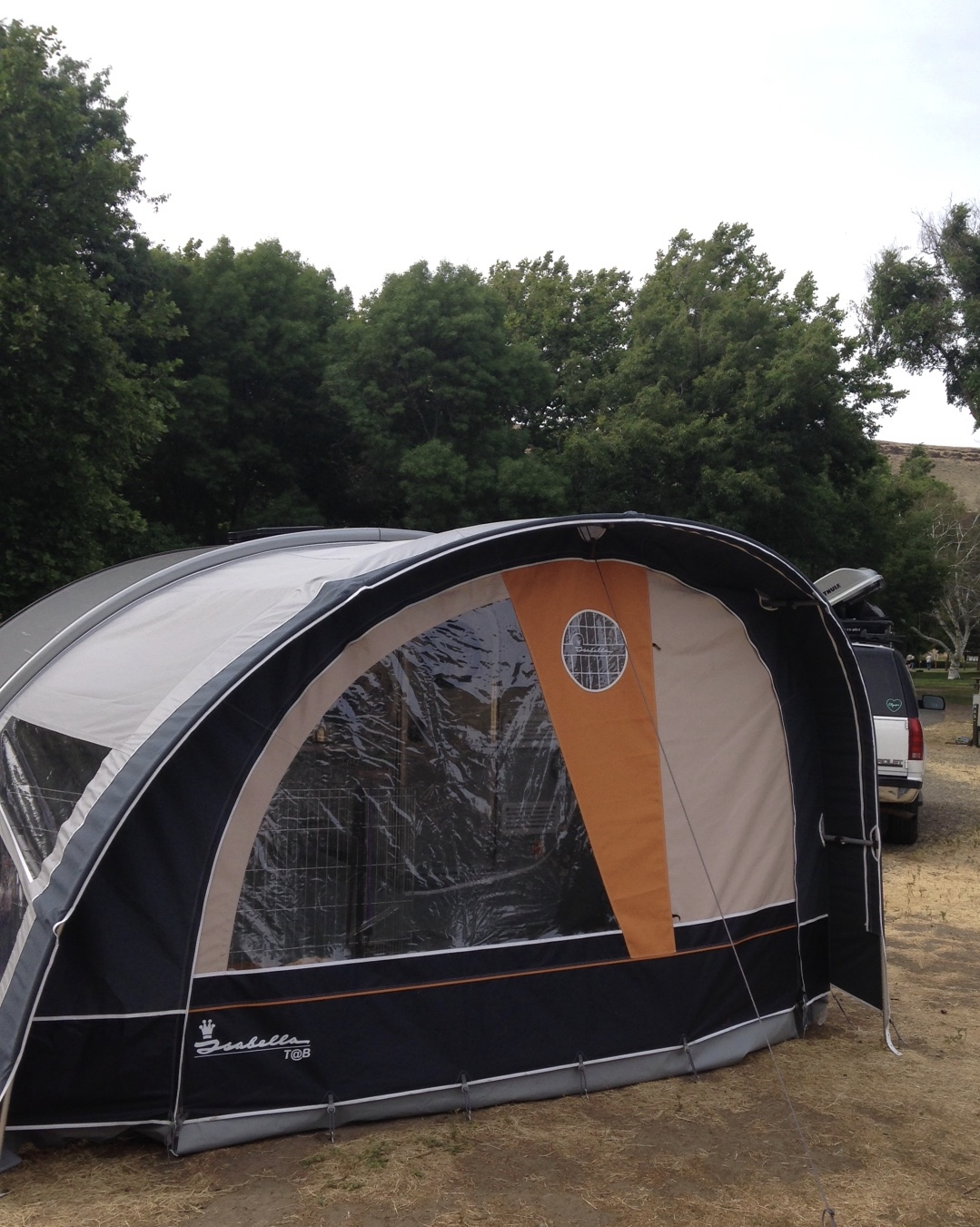 Walker Tent/Awning for T@B 400 Experience