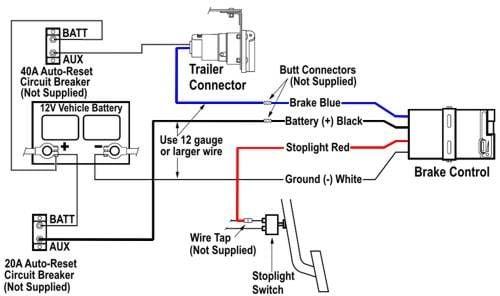 Tekonsha Prodigy P3 Trailer Brake, Tekonsha Prodigy P3 Trailer Brake Controller Wiring Diagram