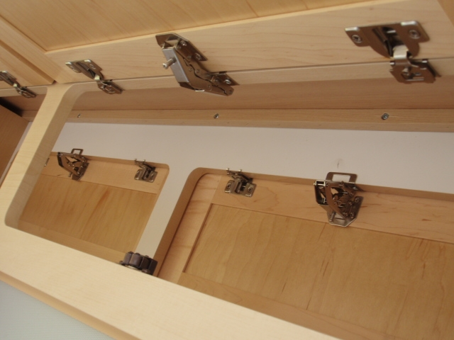 Upper Cupboard Spring Loaded Hinge Replacement To Keep