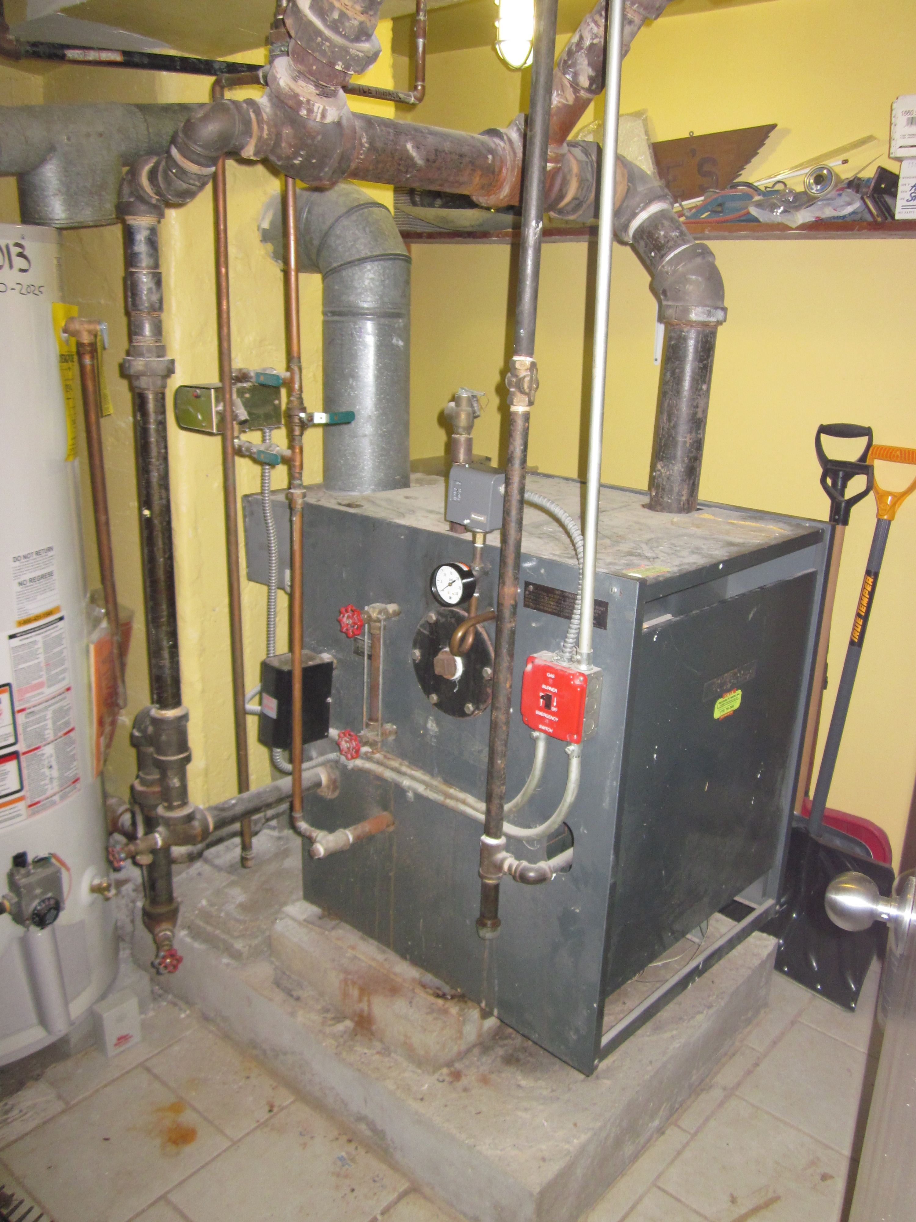 Residential ONE PIPE STEAM SYSTEM — Heating Help: The Wall