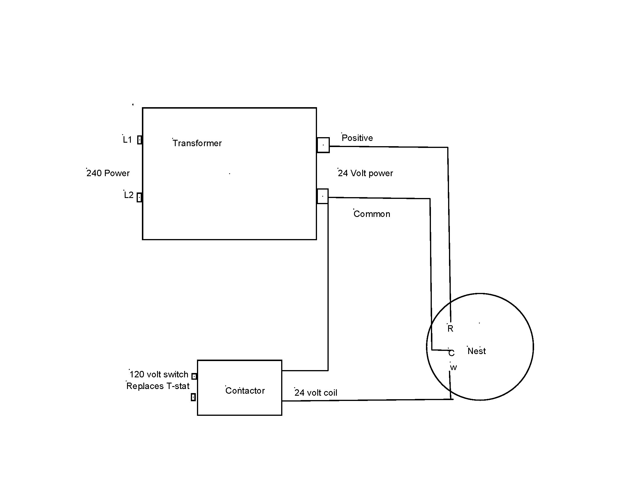 Line Voltage Thermostat Wiring Diagram - Roslonek.net