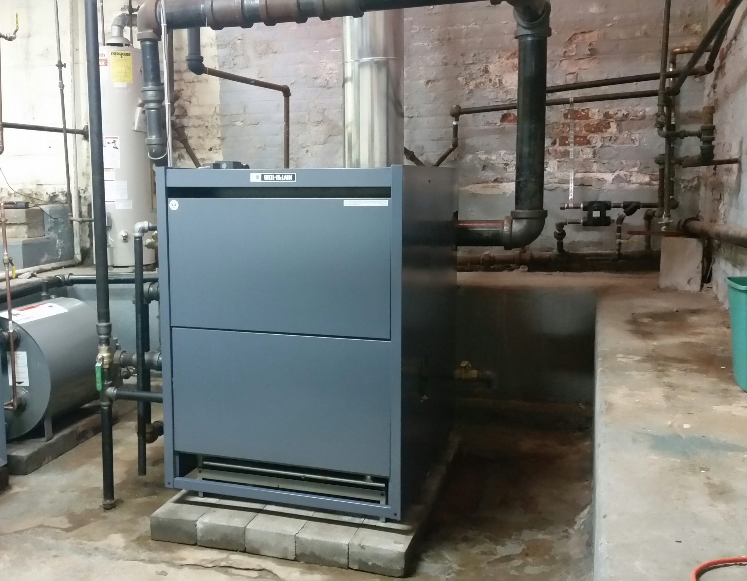 Weil-McLain steam boiler replacement — Heating Help: The Wall