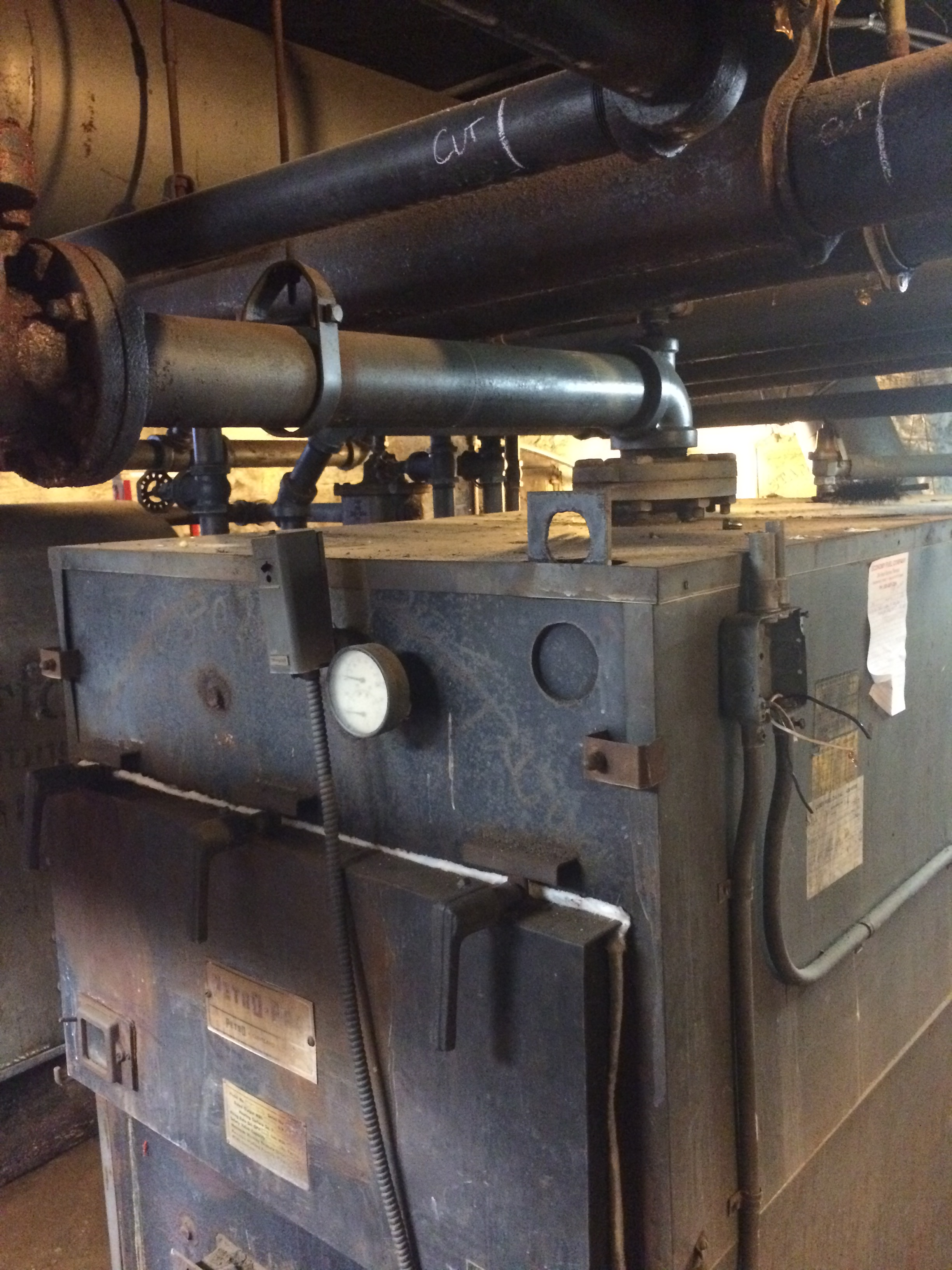 Petro Pac Boiler info — Heating Help: The Wall