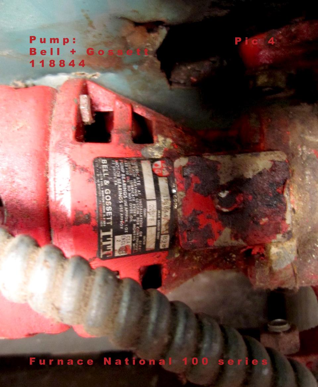 Circulator Pump is non function Bell + Gossett118844