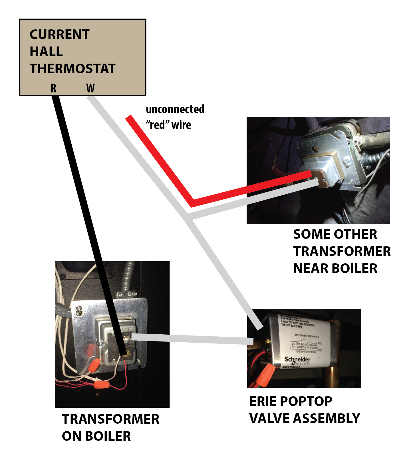 Help With Adding A C Wire For Smart Thermostat Heating The Caleffi Zone Valve Wiring Diagram 2