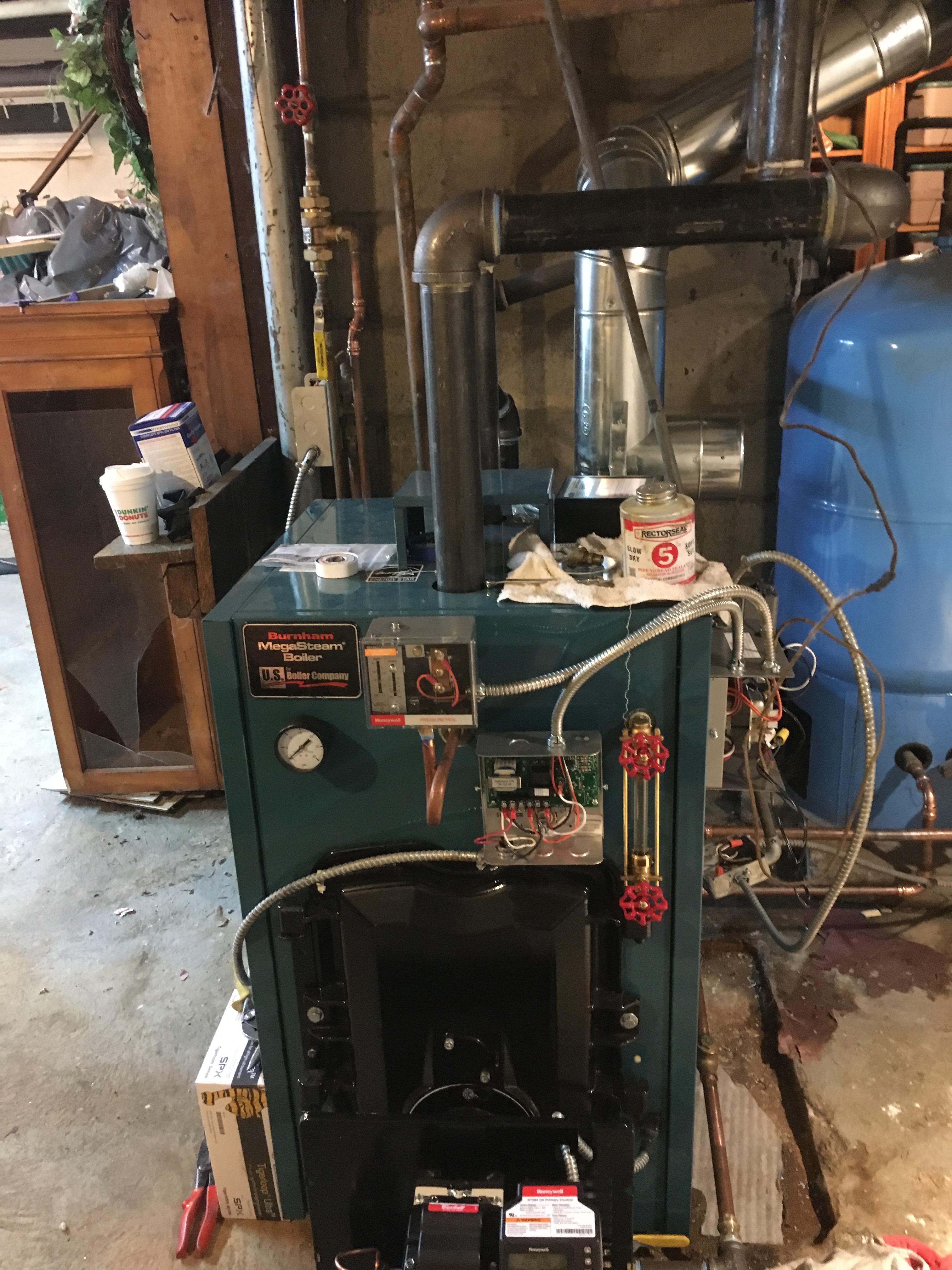 Wiring Burnham Mst Boiler Wire Center Diagram New Megasteam Install Heating Help The Wall Rh Forum Heatinghelp Com Model Numbers