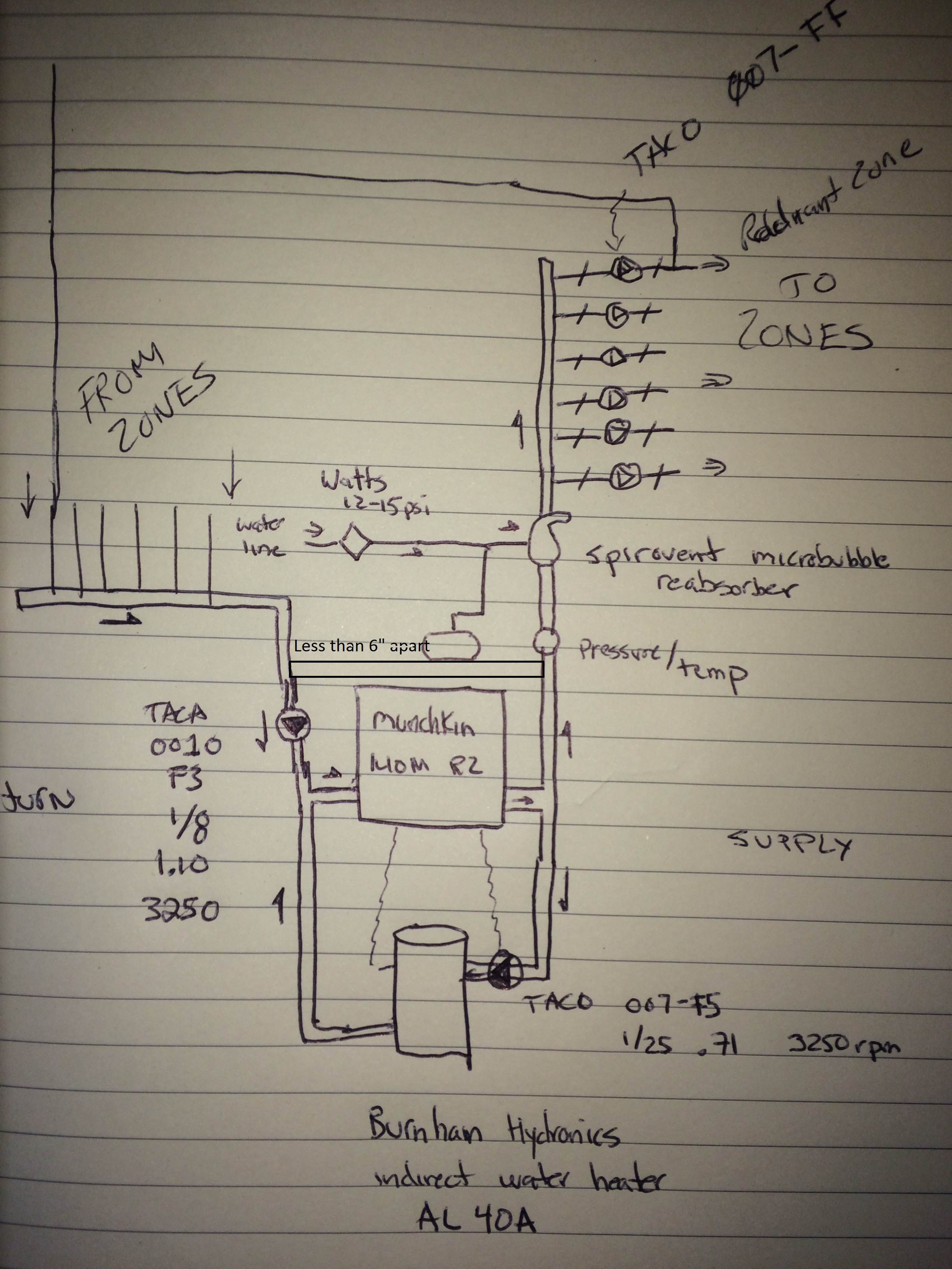 Adding A Radiant Zone Do I Need Control Unit Relay Or 110v Taco Circulator 00 Series Wiring Diagram Img 0734