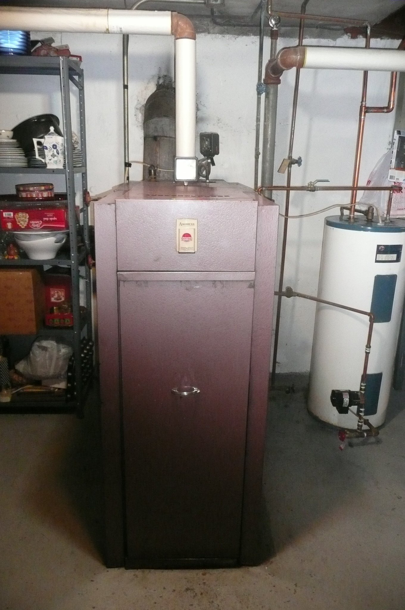 70 Yr Old Boiler I Think Its Time Heating Help The Wall