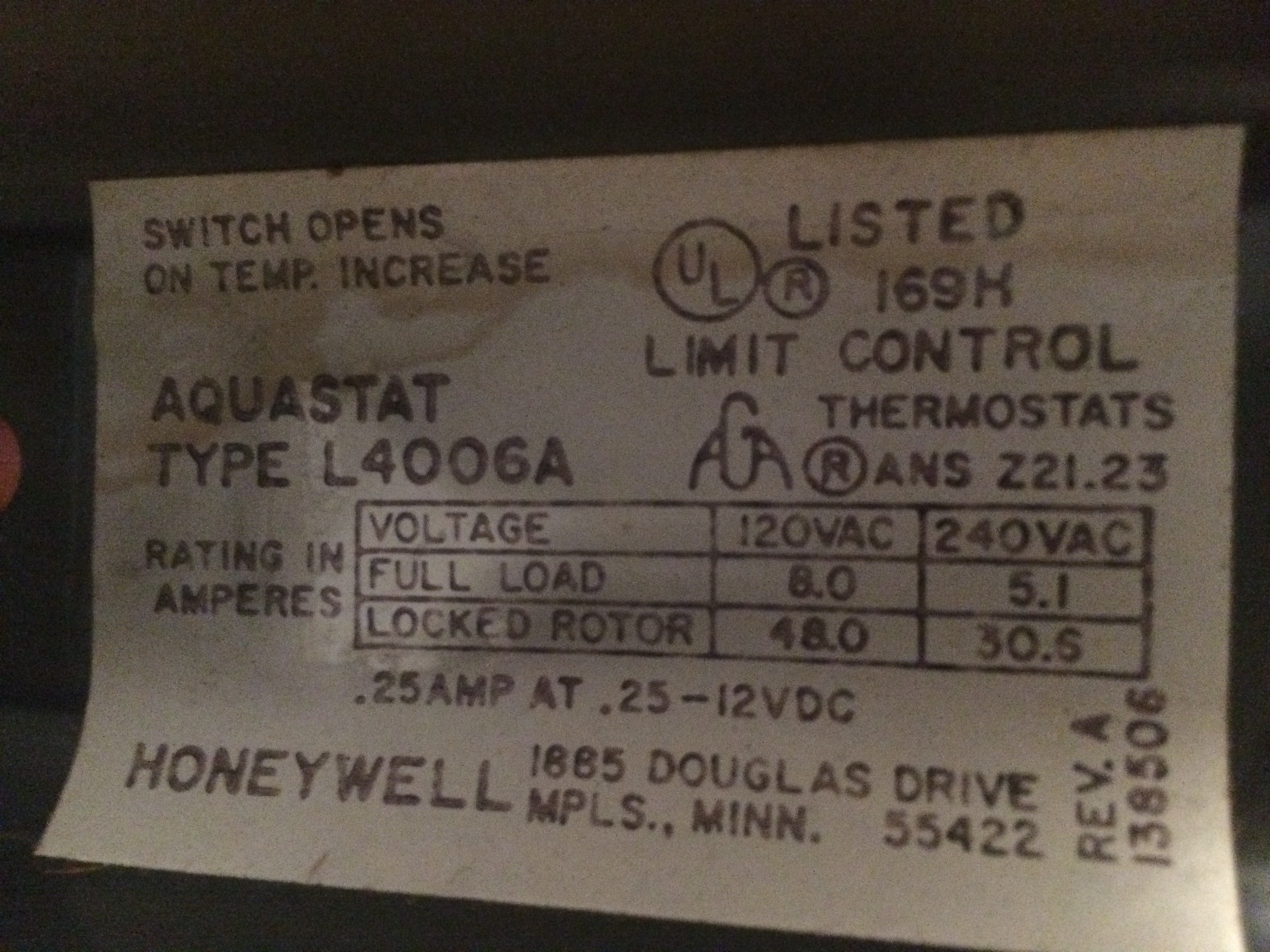 Common C Wire 24vac For Visionpro Th8110 With Redlink Heating Honeywell L7224 Wiring Diagram Img 2904