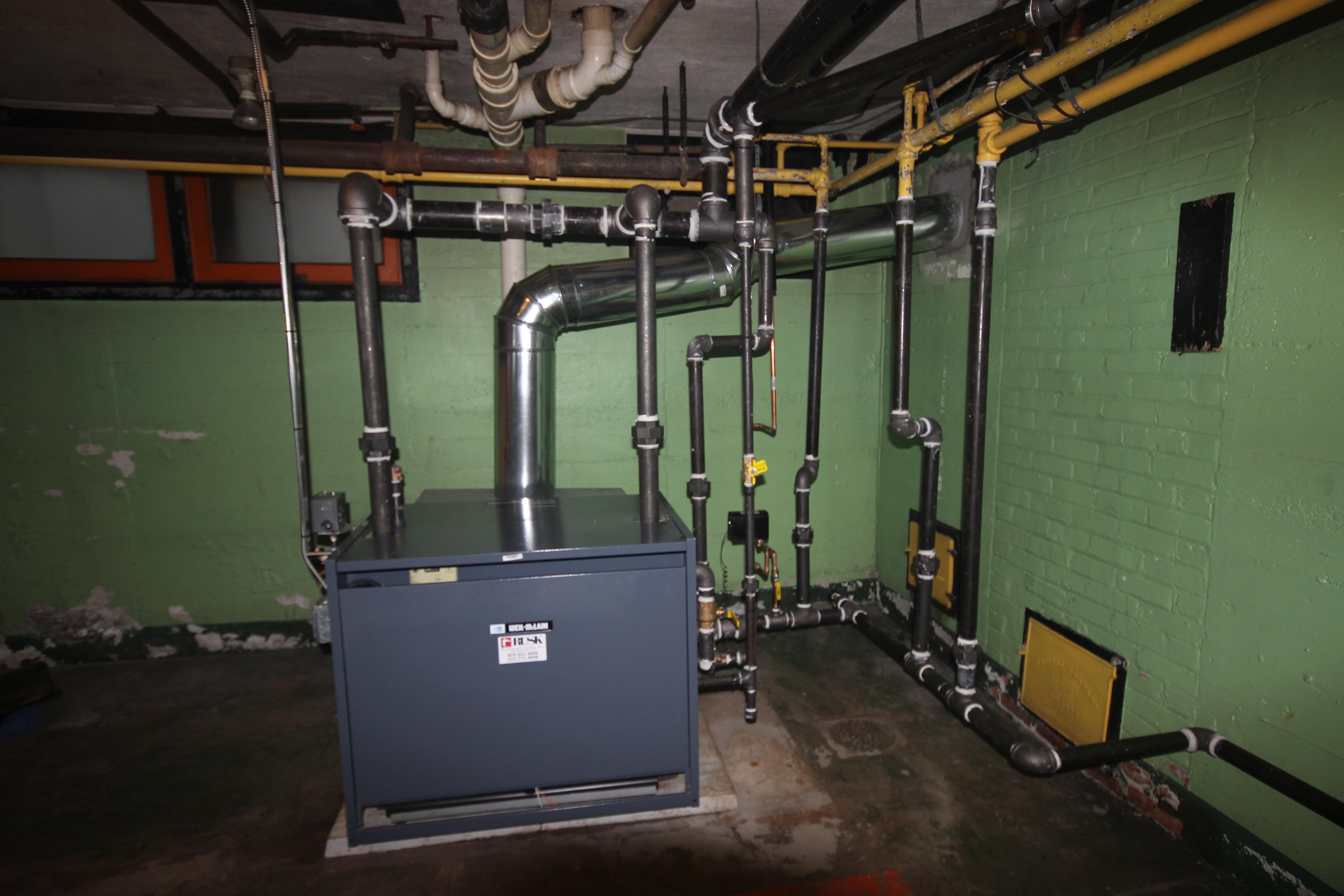 New Boiler Install Weil Mclain Egh