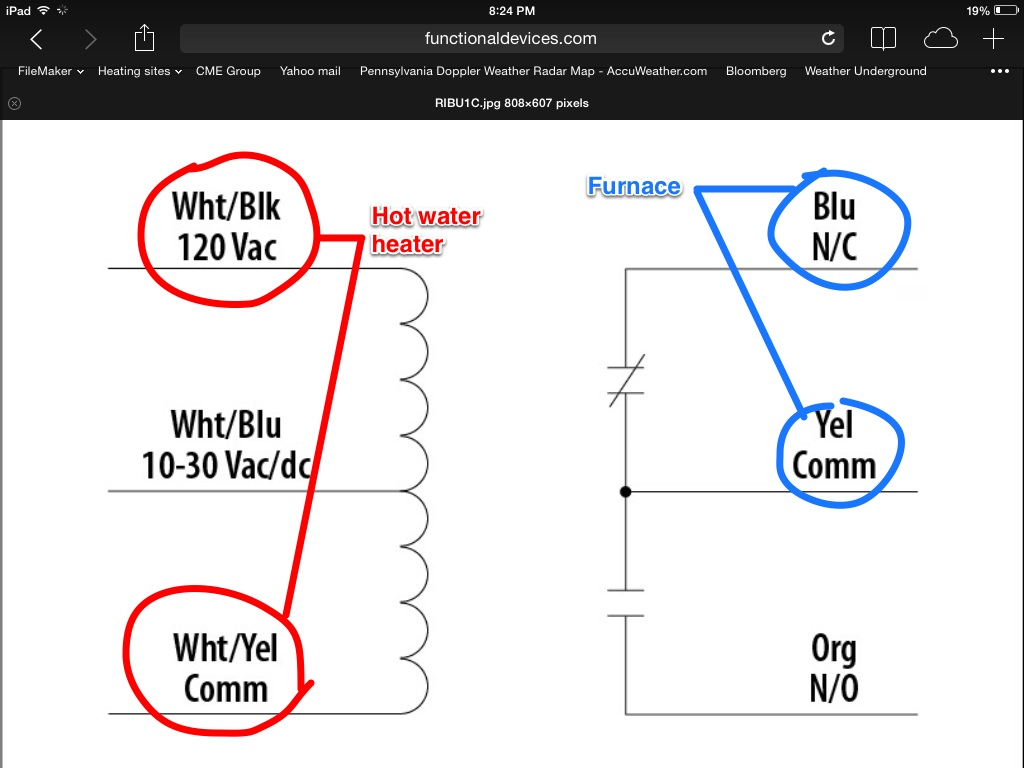 Rib Relay Wiring Diagram  Faq Functional Devices Inc