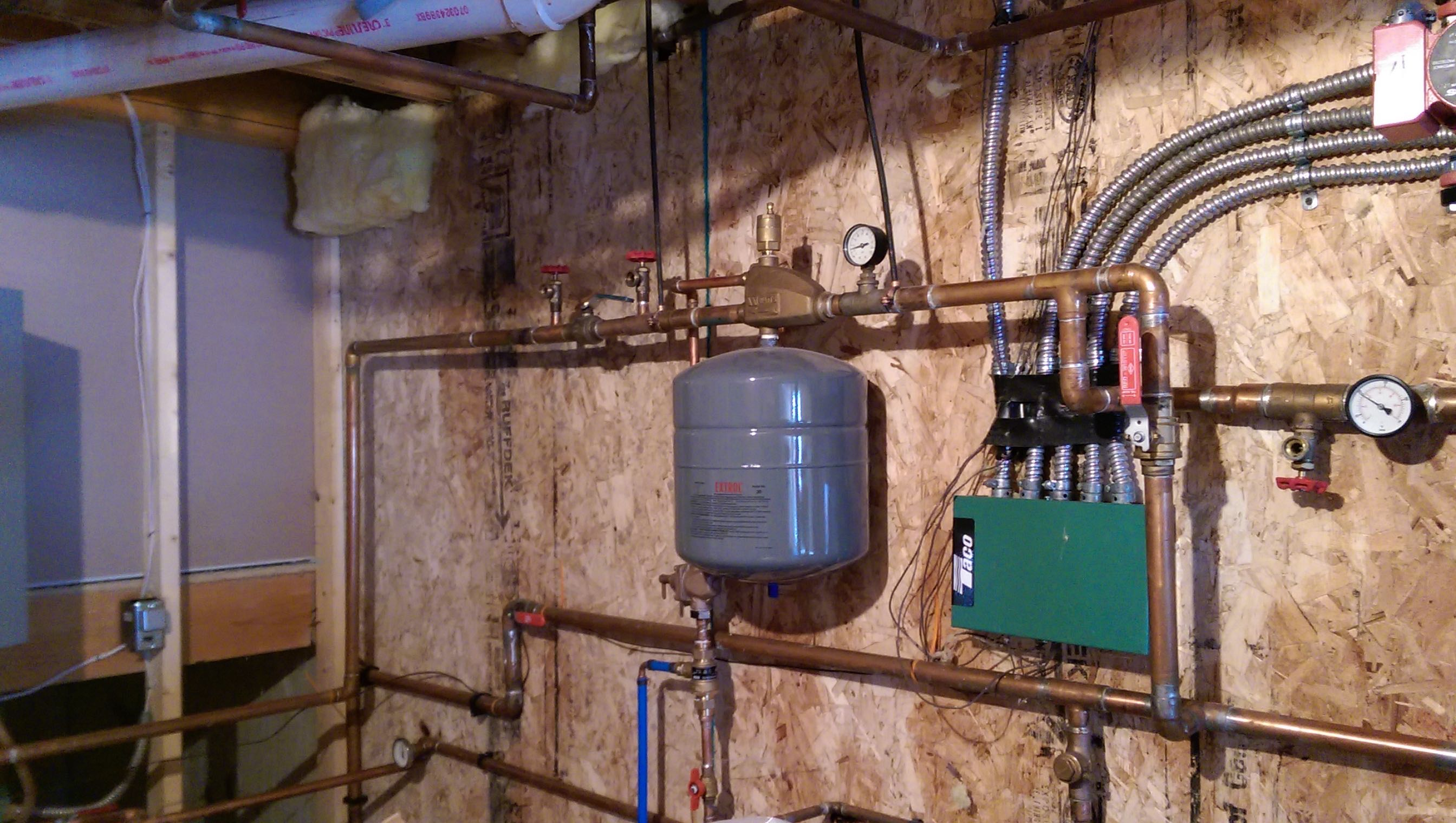 Dual fuel electric boiler or — Heating Help The Wall
