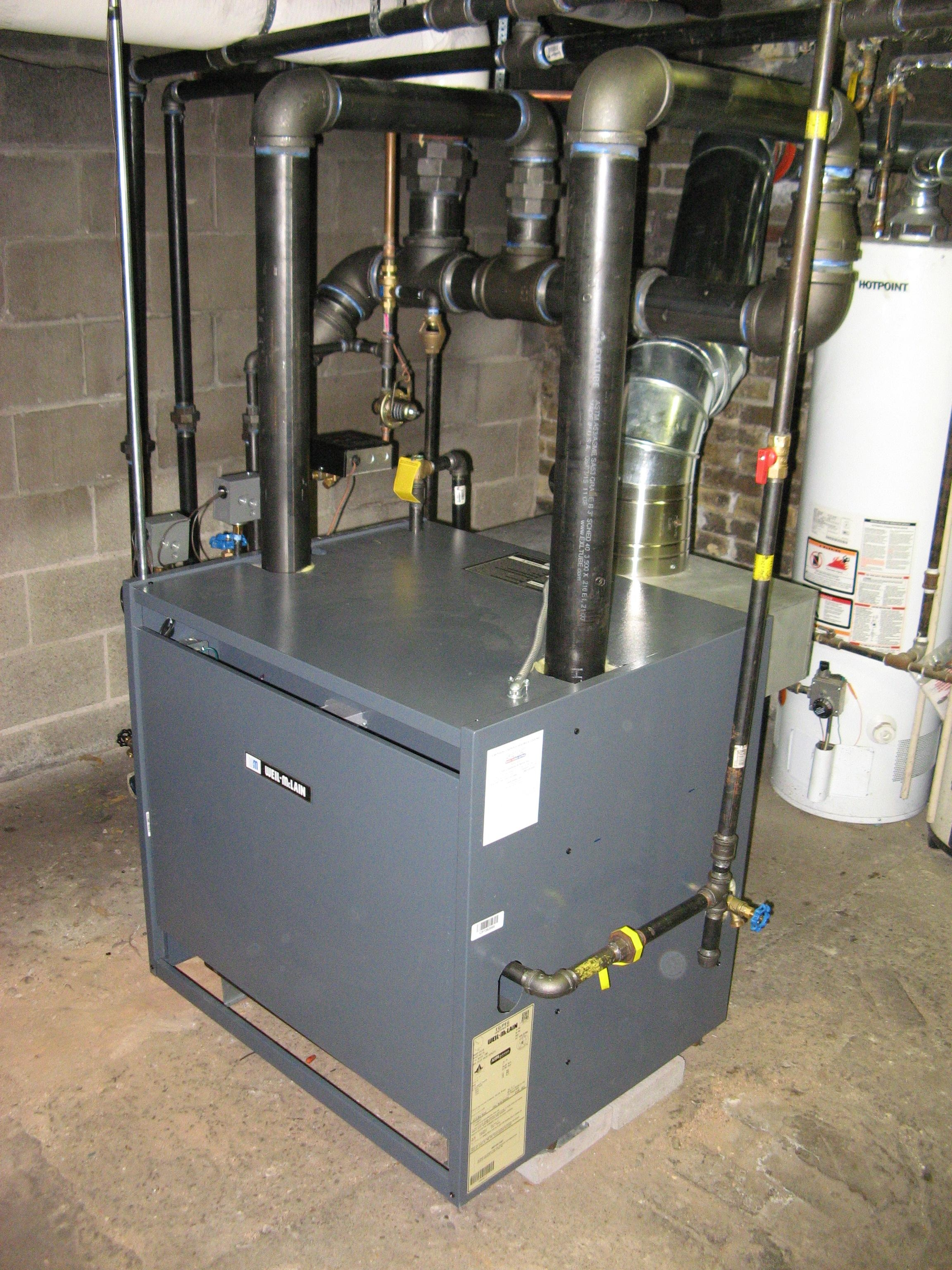 New Steam Boiler Installed-Feel Free to Comment — Heating Help: The Wall