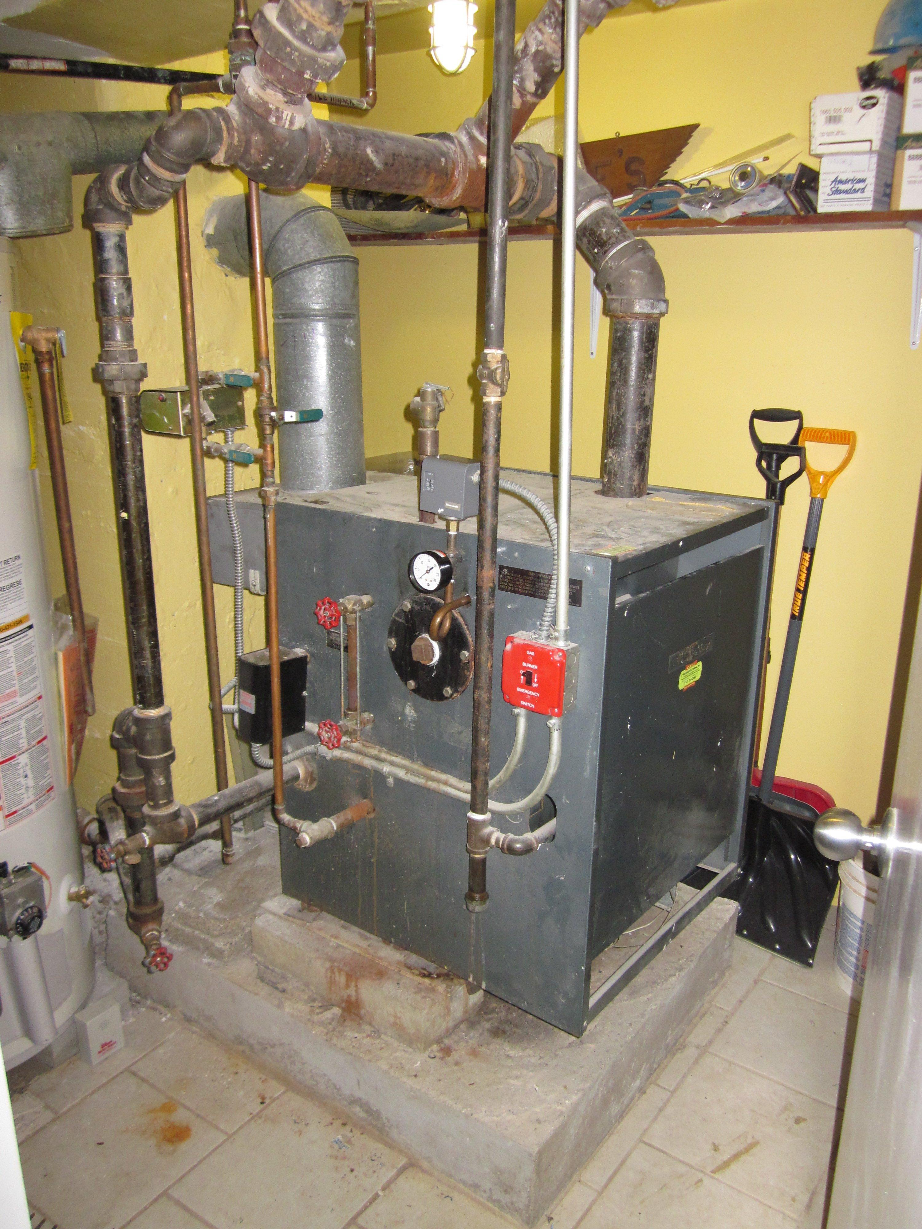 Steam Heat, Weil McLain Boiler — Heating Help: The Wall