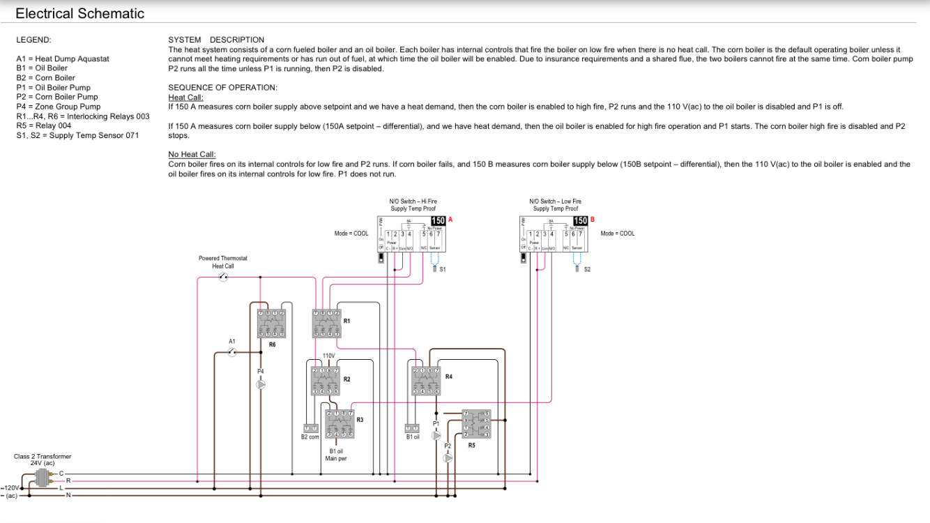 Oil Boiler Diagram Supply Ac Content Resource Of Wiring Piping Tankless Water Heater Corn Fired Fuel Back Up Controls Help Needed Heating Rh Forum Heatinghelp Com Boilers For Home Hot Layout