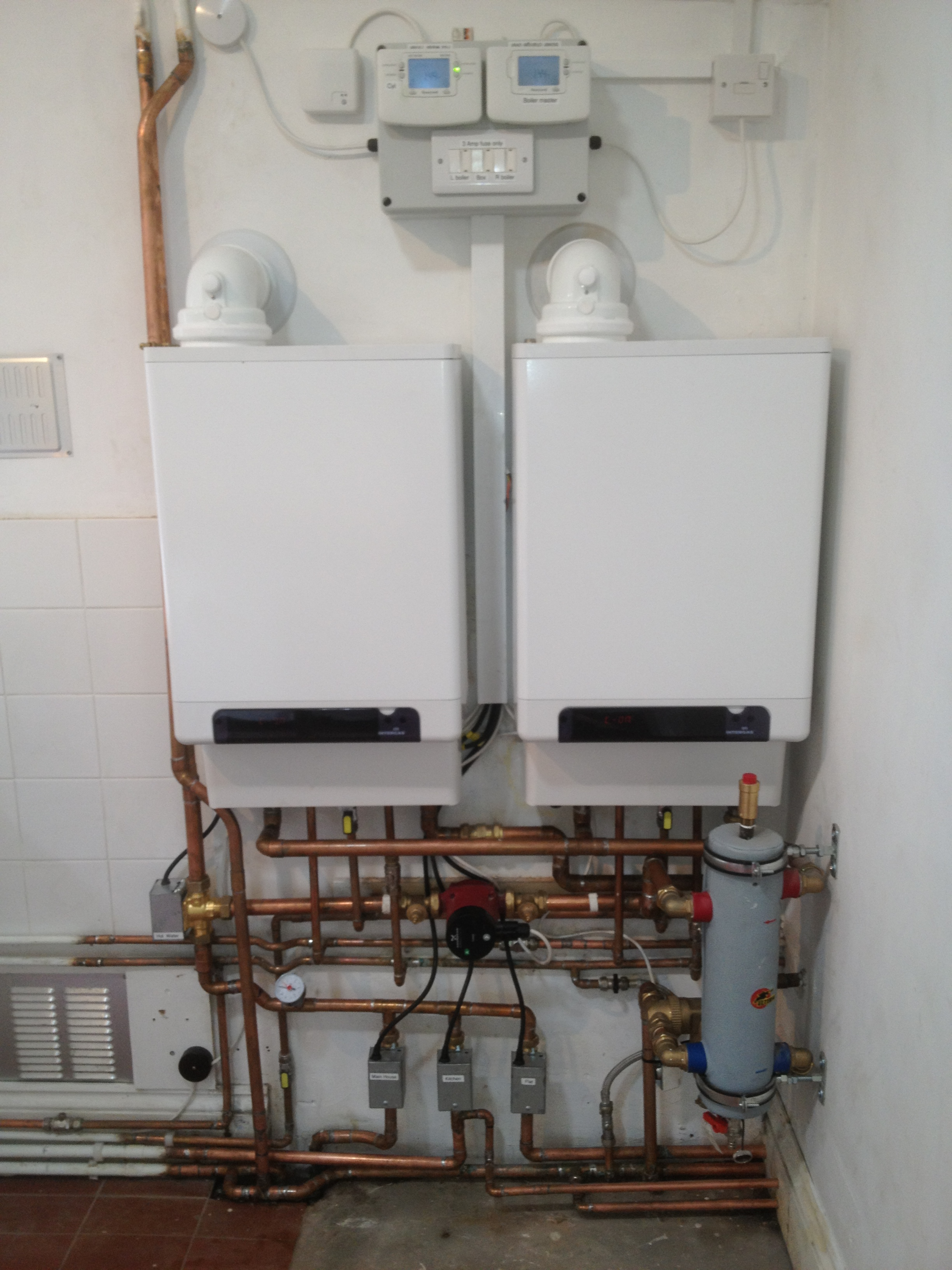 Low Loss Headers & Close Coupled T\'s — Heating Help: The Wall