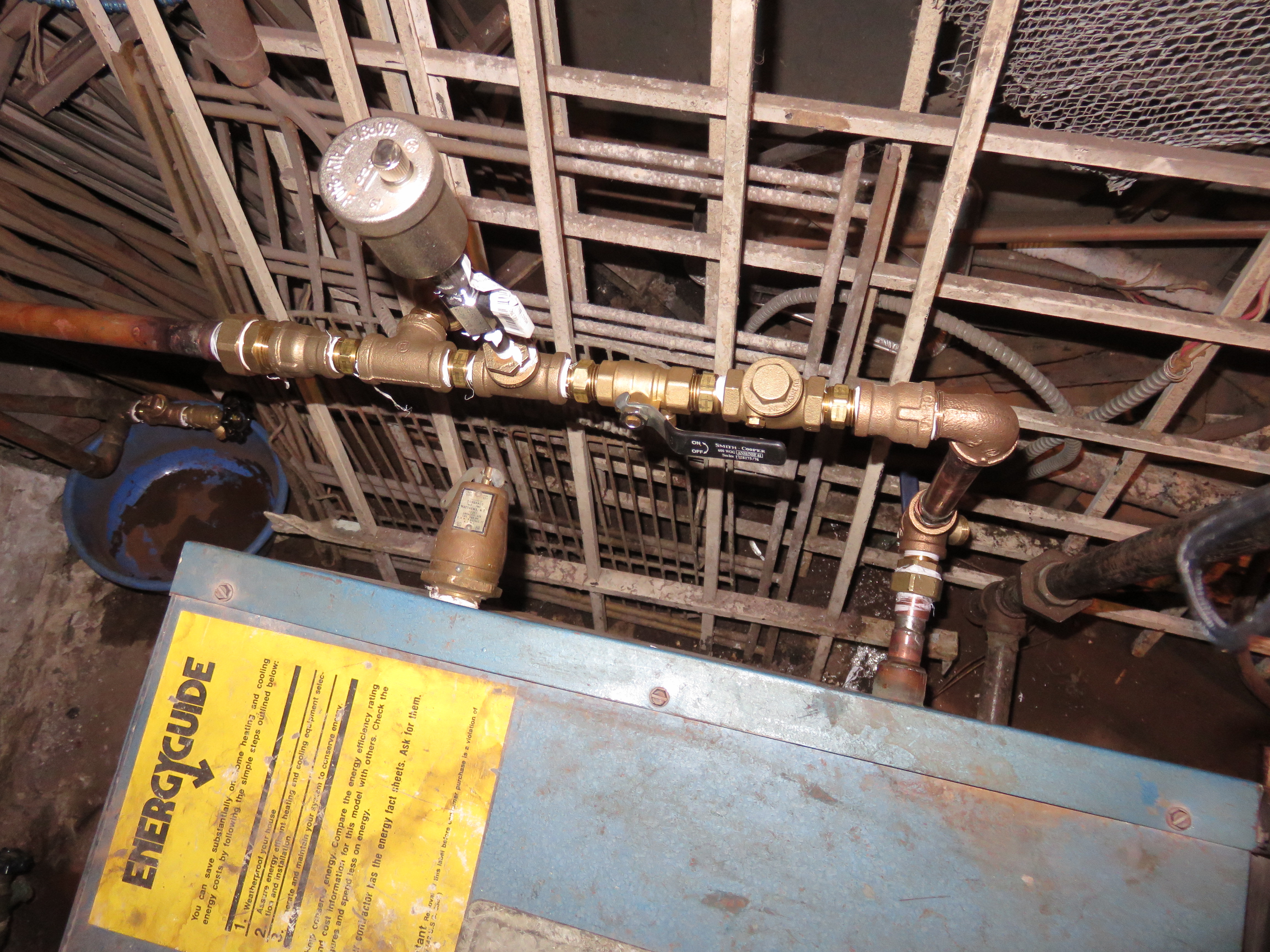 Water Hammer In Return Line From Baseboard Heating Attached To Steam Electric Heaters Heater Problems Should I Put Another Vent On The After Check Valve Near Boiler