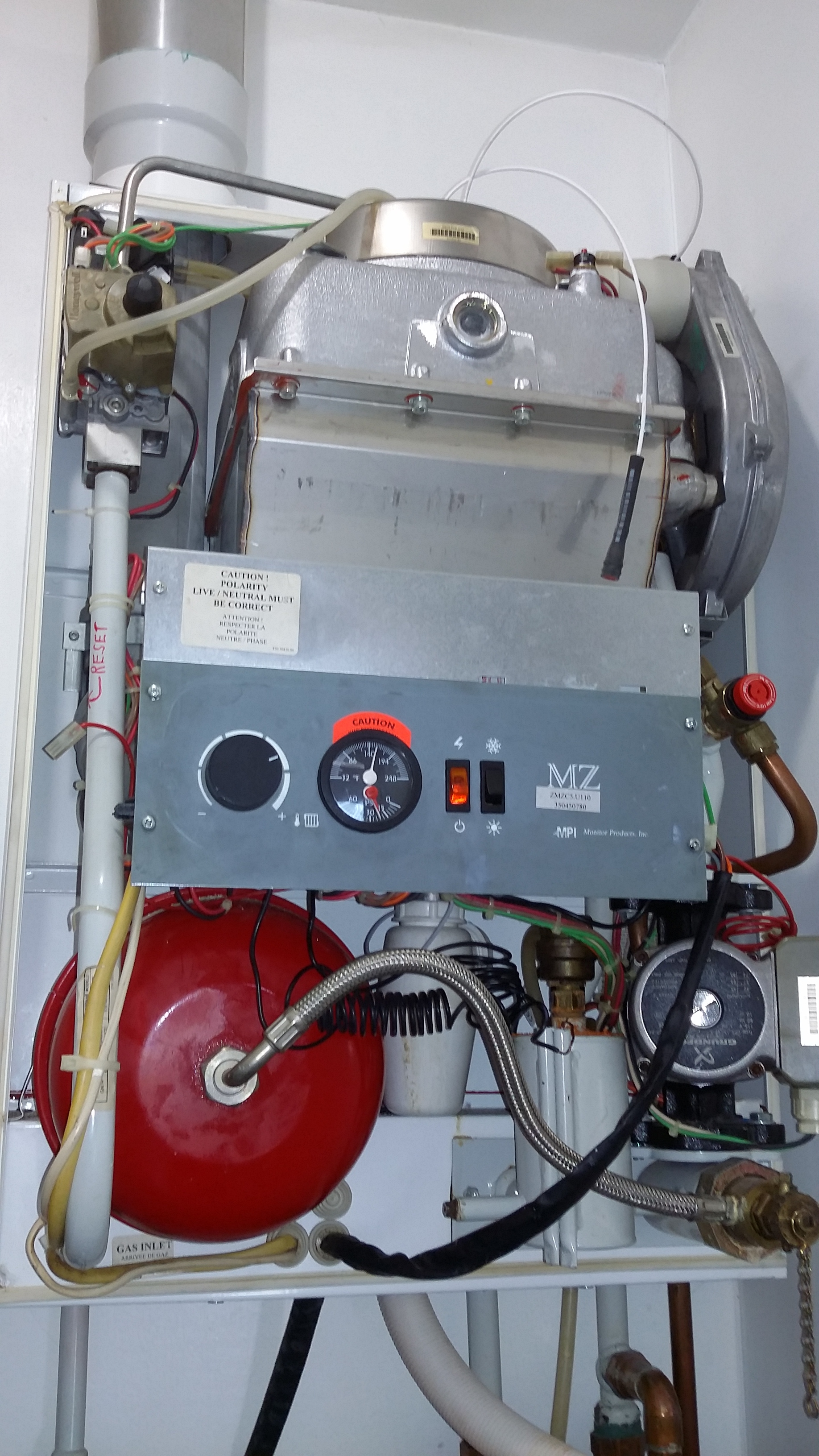 Monitor boiler — Heating Help: The Wall