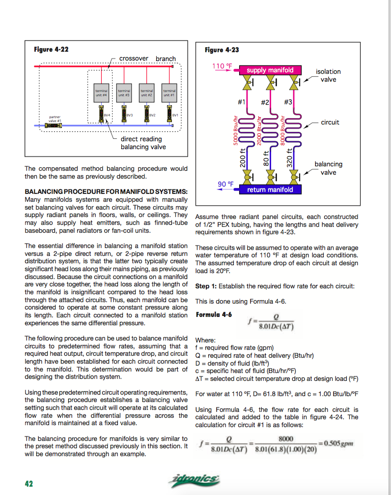 flow control valves on a home-run TRV system — Heating Help: The Wall