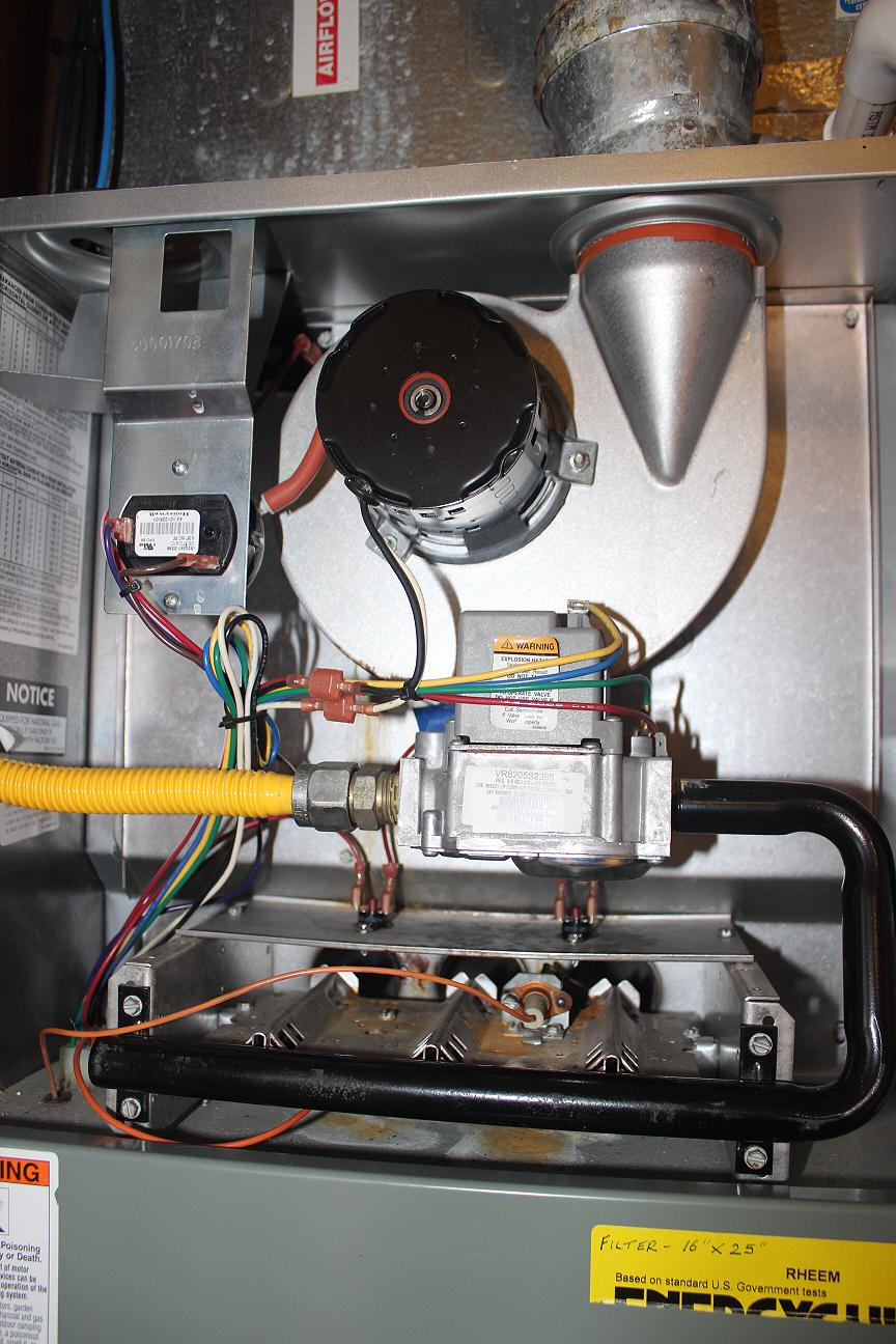 Rheem Super Quiet 80 Series Limit Switch Tripping — Heating