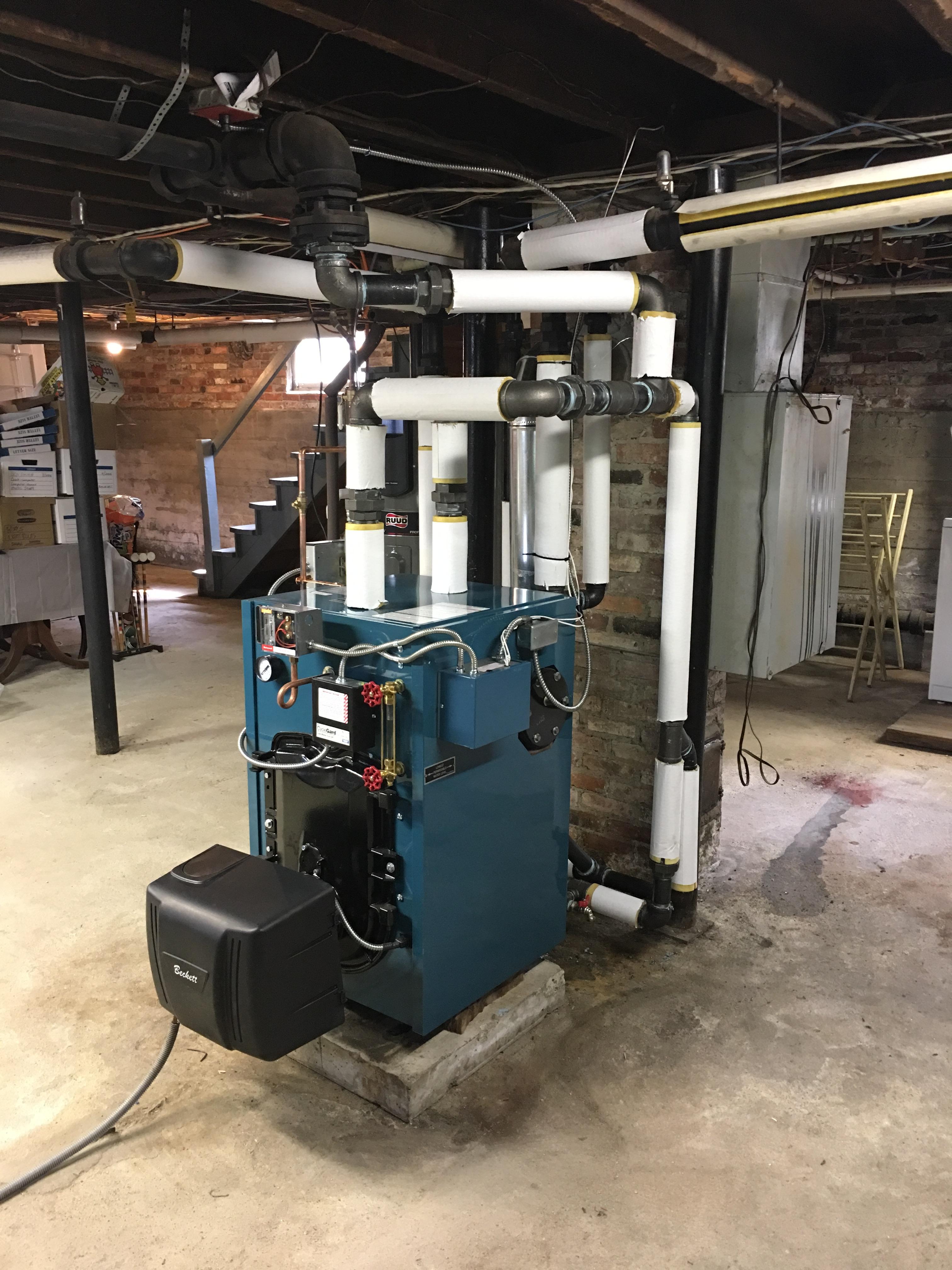 Maine Steam Boiler Installation Professional Recomendation