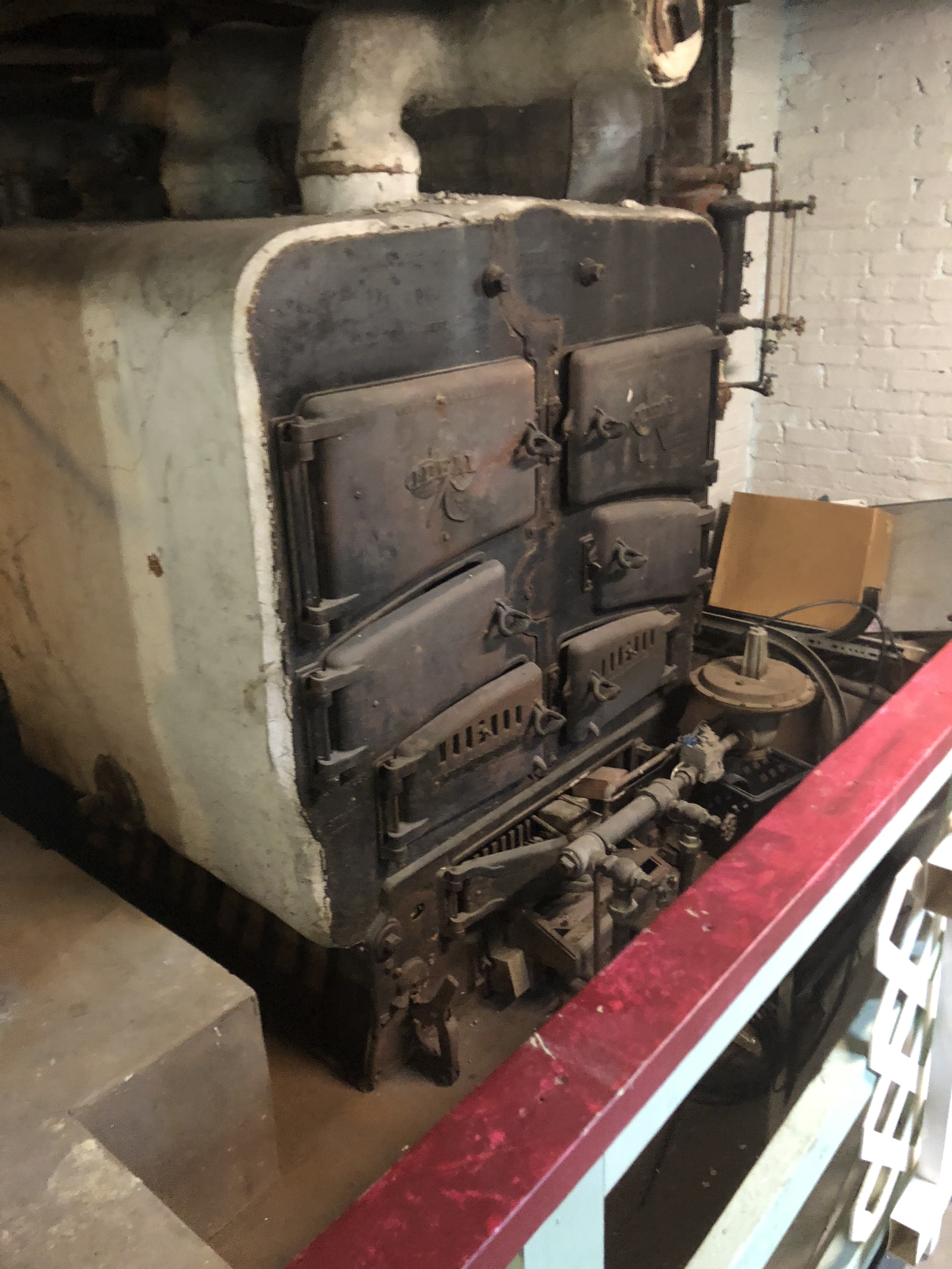 Got to see this old Ideal steam boiler on Friday — Heating Help: The ...