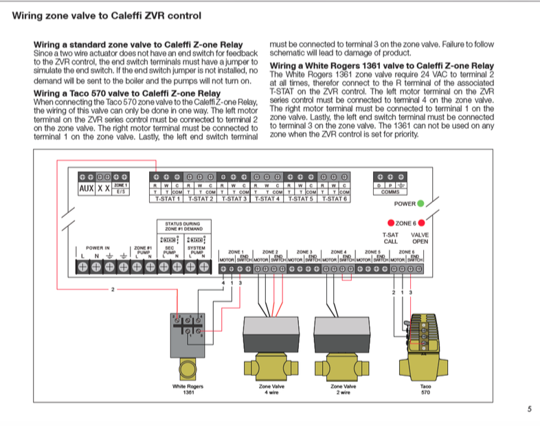 5woh7zylwsir run a c wire to 2 on a taco valve? other location? heating help taco sr502 4 wiring diagram at creativeand.co