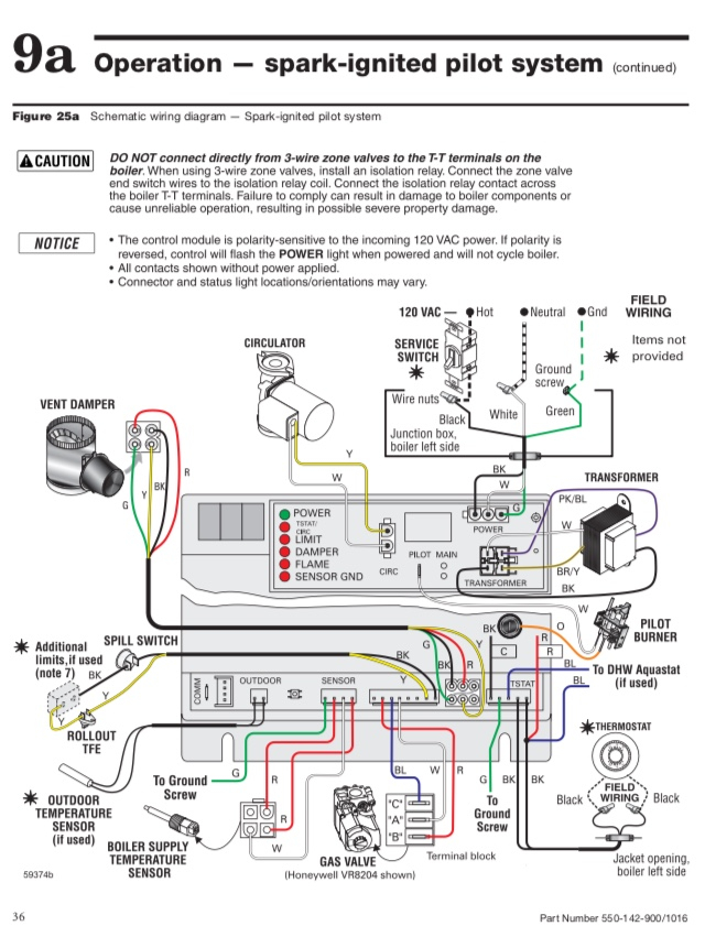 C Wire Gas Boiler Wiring  U2014 Heating Help  The Wall