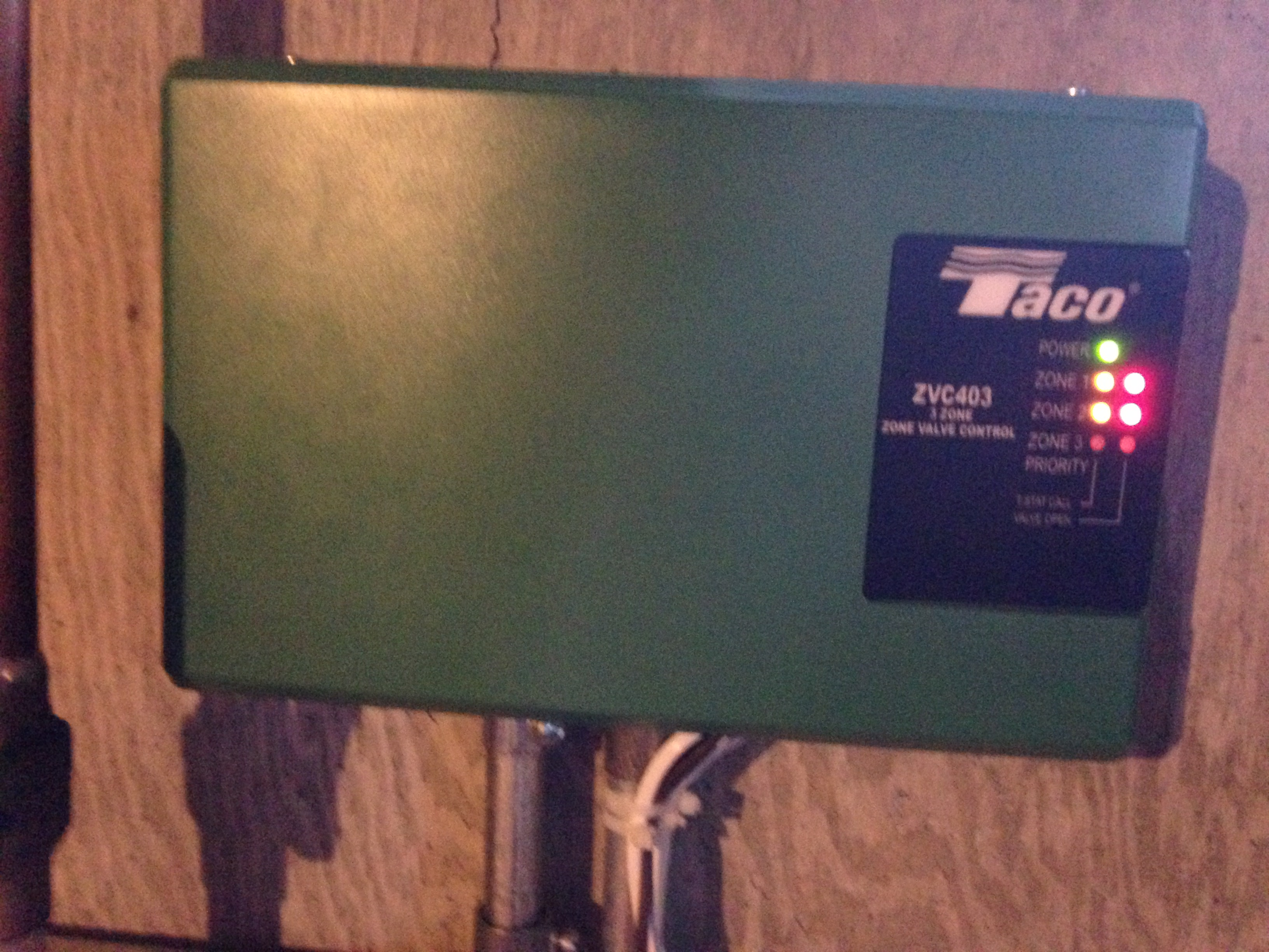Taco ZVC403 issue? — Heating Help: The Wall