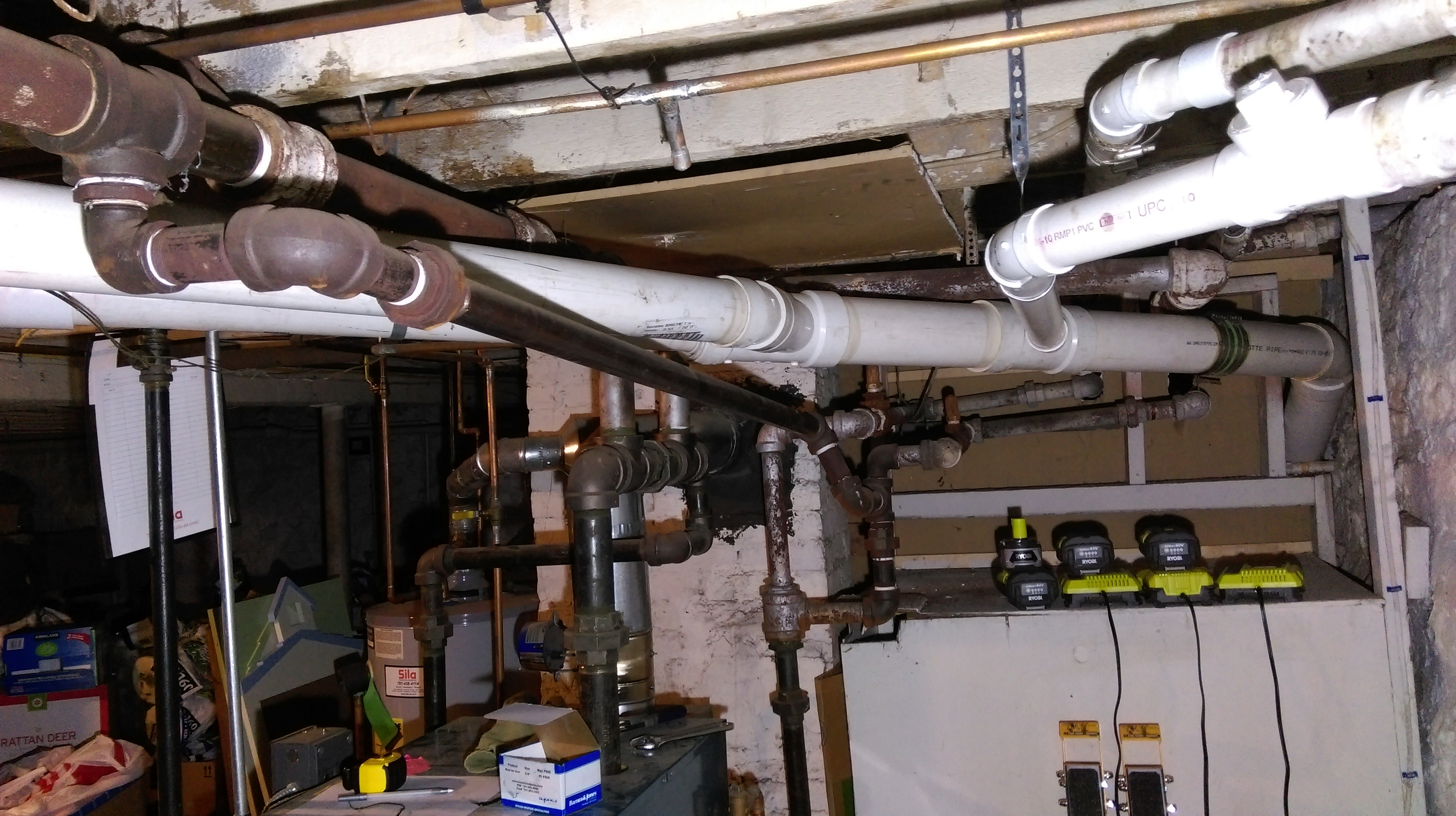 Should This Pipe Be Attached To The Main Steam And Vent Electrical Wiring Pipes 1