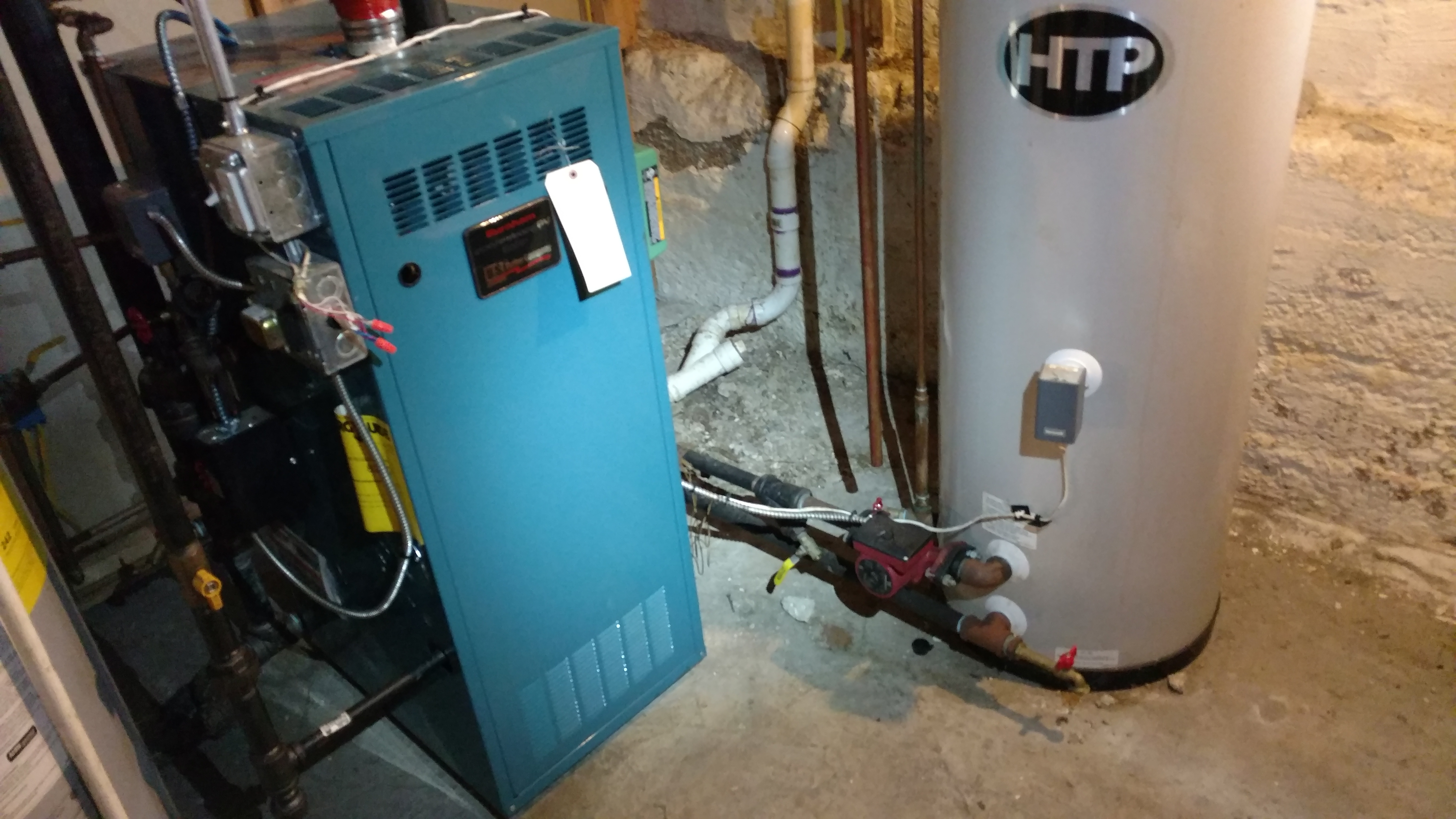 Steam Heating System need an experienced tech to install auto feeder ...