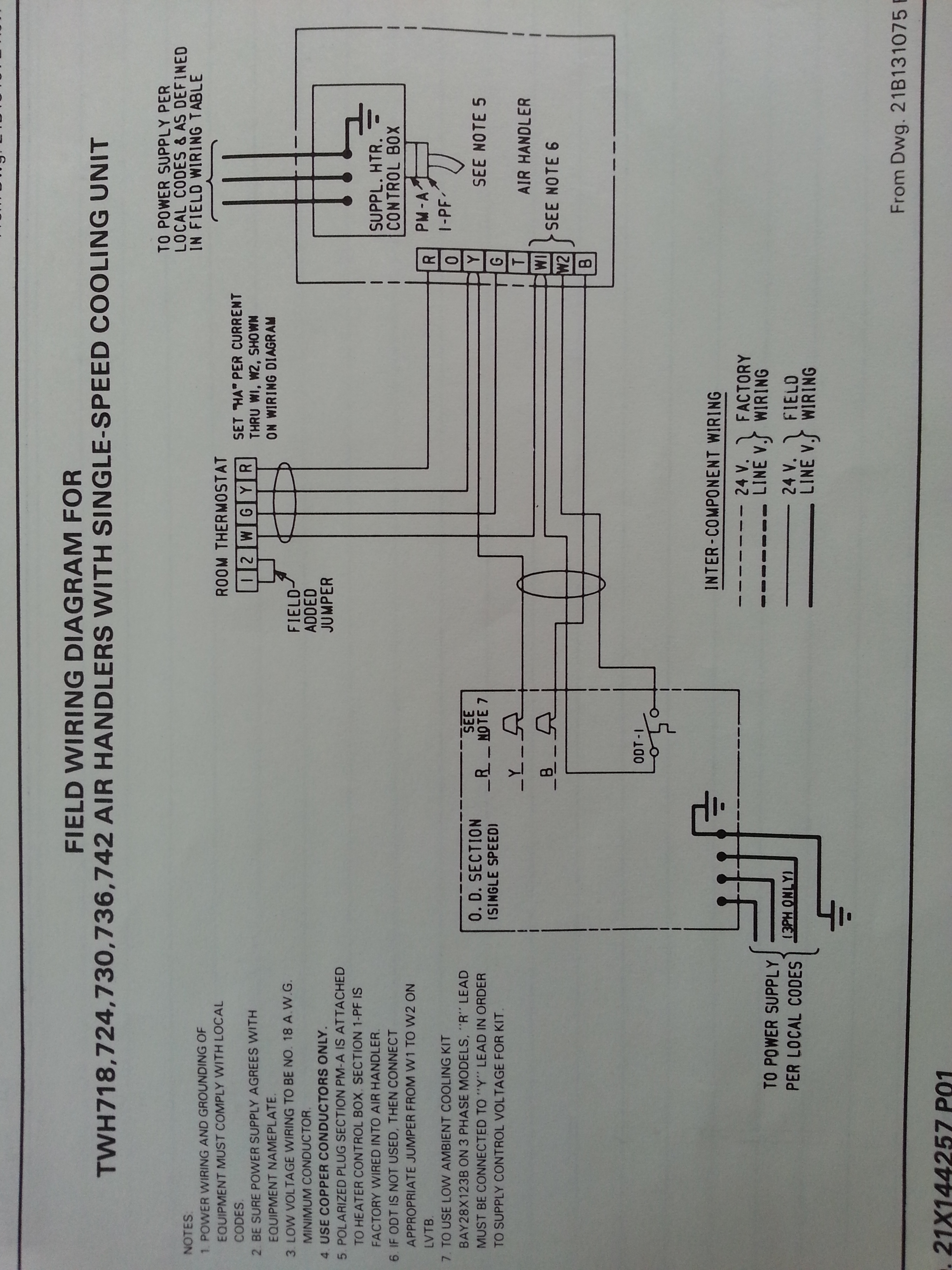 Trane XL1200 Repair — Heating Help: The Wall | Hvac Wiring Diagram For Trane 1200 Xl |  | Heating Help: The Wall