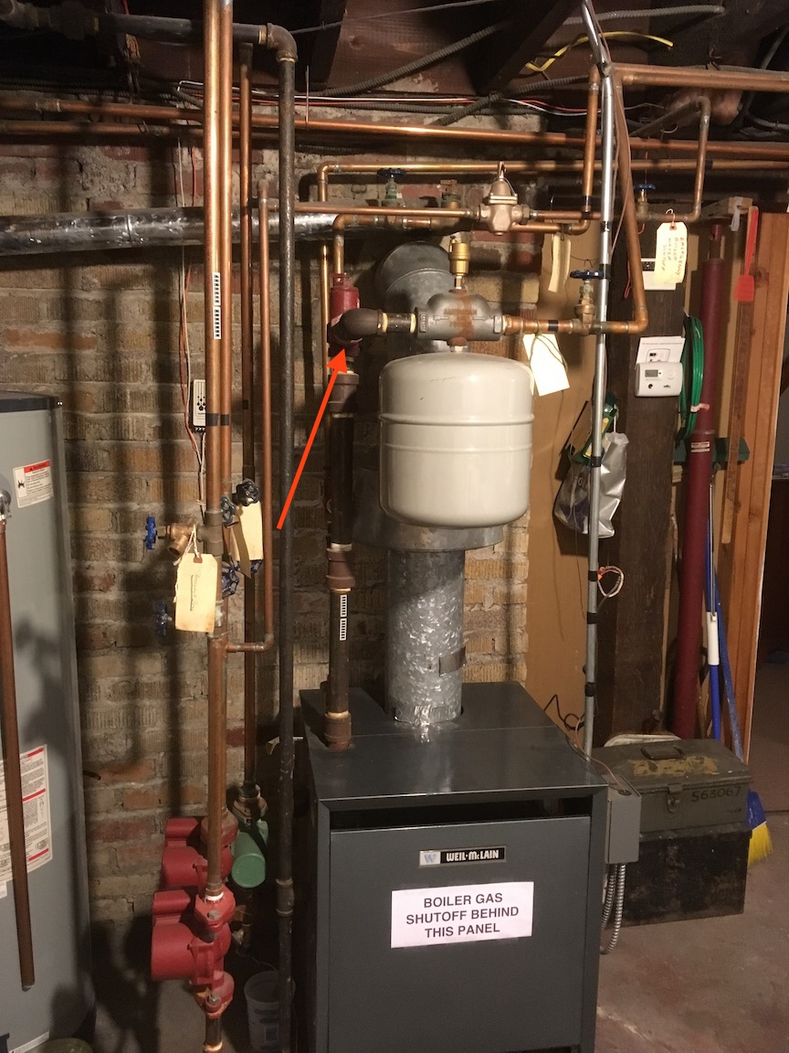 Best Location for LWCO on old boiler — Heating Help: The Wall