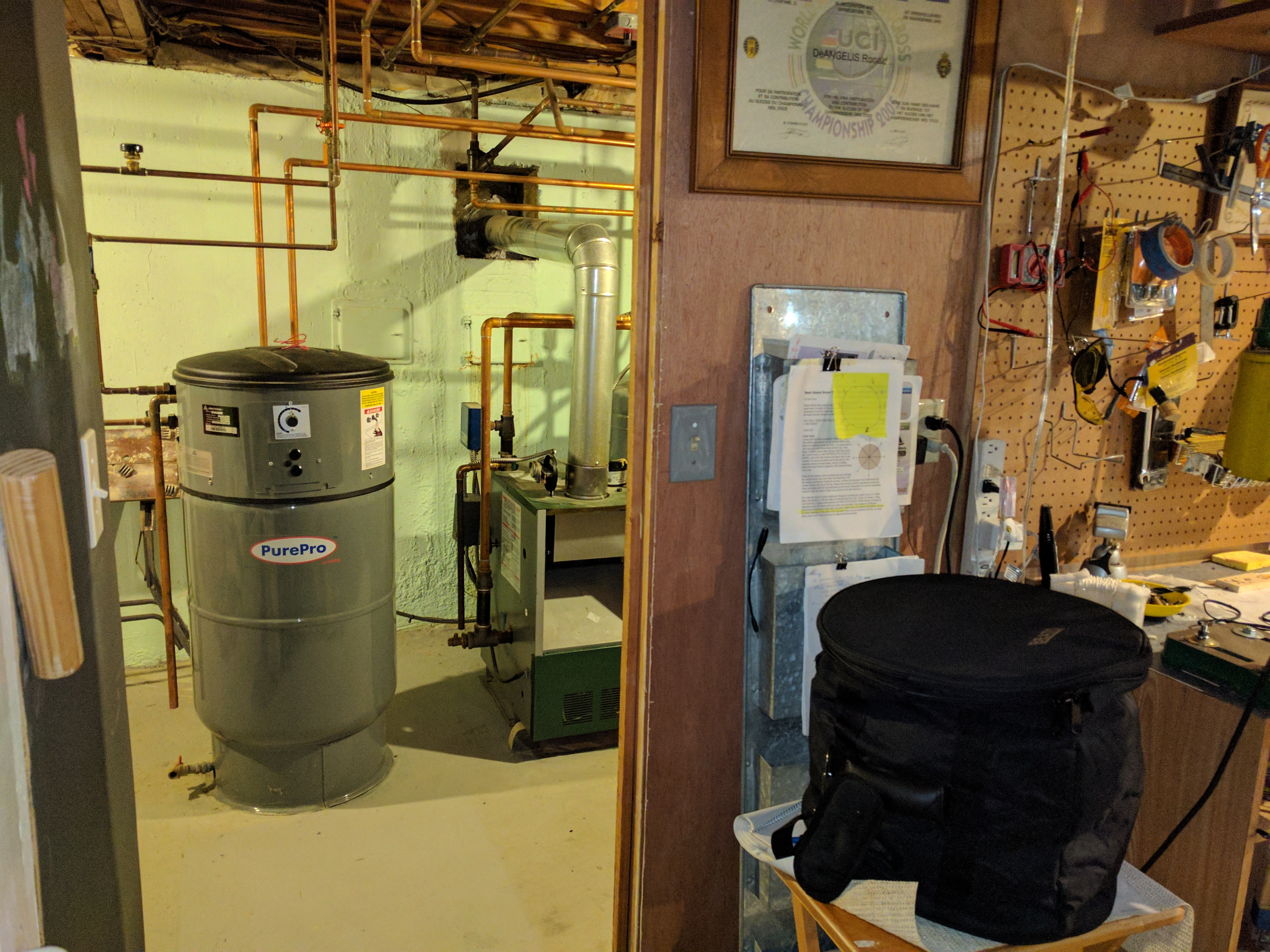 Intermittent - No hot water — Heating Help: The Wall