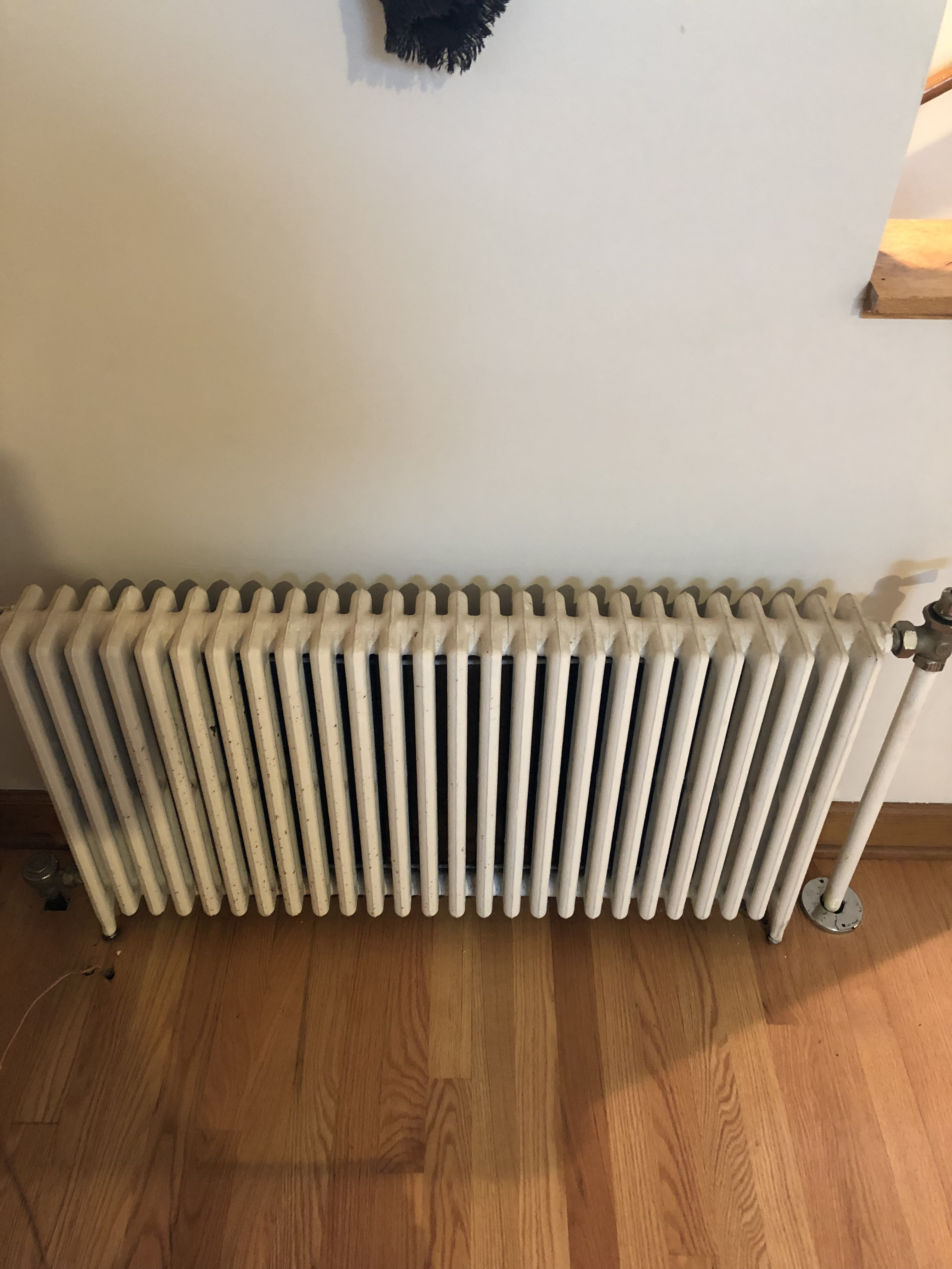 Radiator Not Getting Hot >> Steam Radiator Not Getting Hot Heating Help The Wall