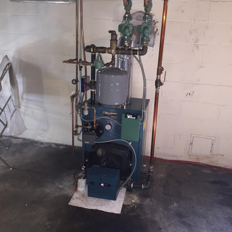 Coil For Burnham Boiler ~ Eliminating heating coil on boiler — help the wall