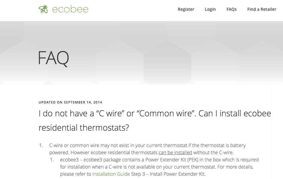 Ecobee3 Installation Without C Wire | Run A C Wire To 2 On A Taco Valve Other Location Heating Help
