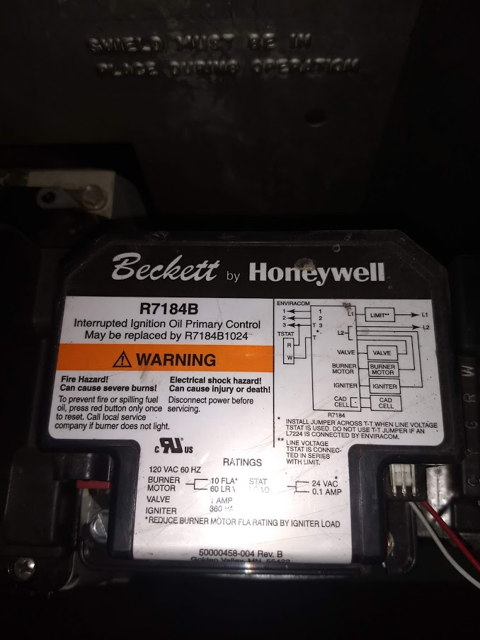 Bypassing Beckett 51950U A/C Ready Kit — Heating Help: The Wall