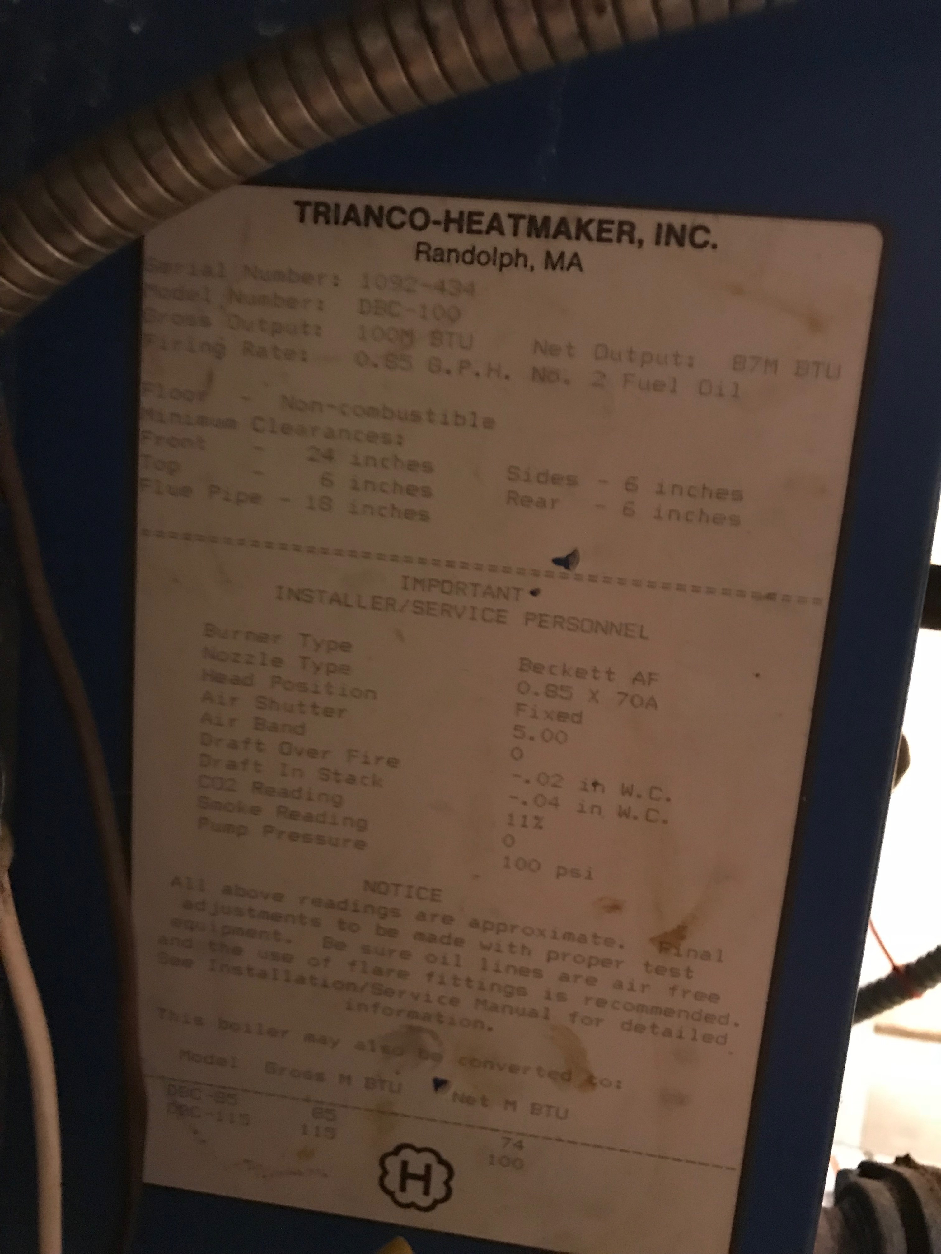 Oil Heating Help The Wall Pennco Boiler Wiring Diagram Thanks In Advance