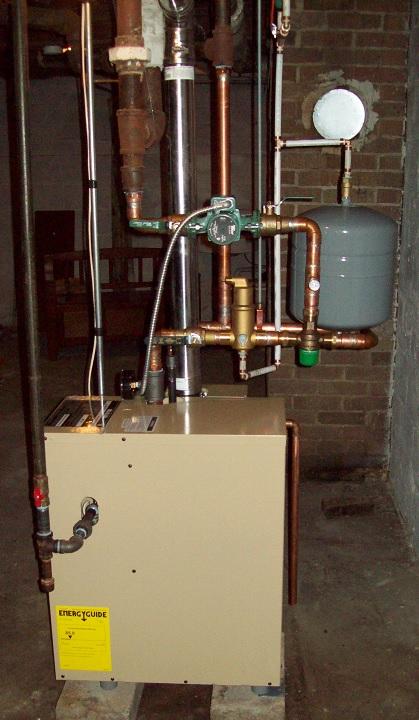 weil-mclain cgi install — Heating Help: The Wall