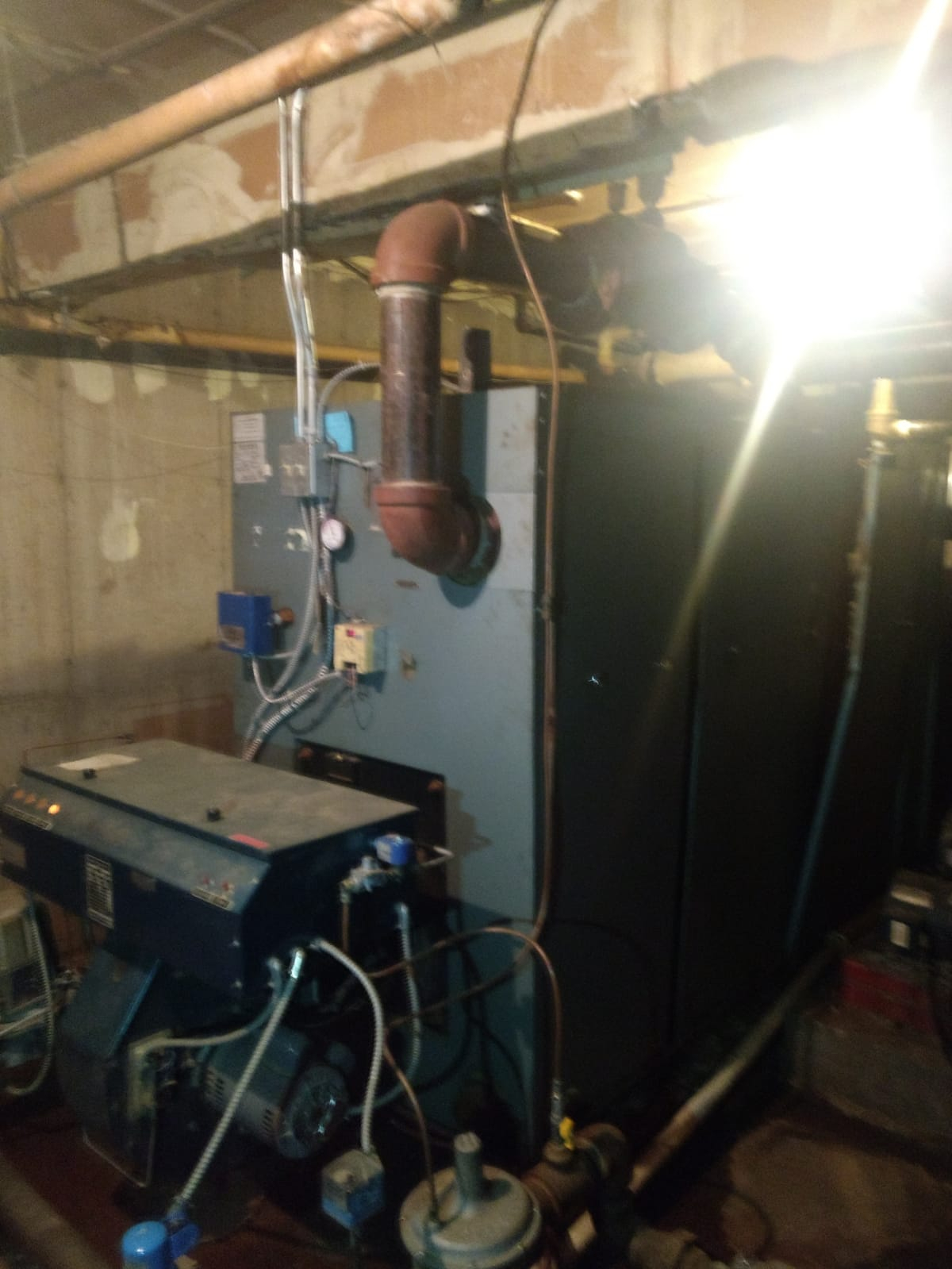 new commercial boiler needed  — Heating Help: The Wall