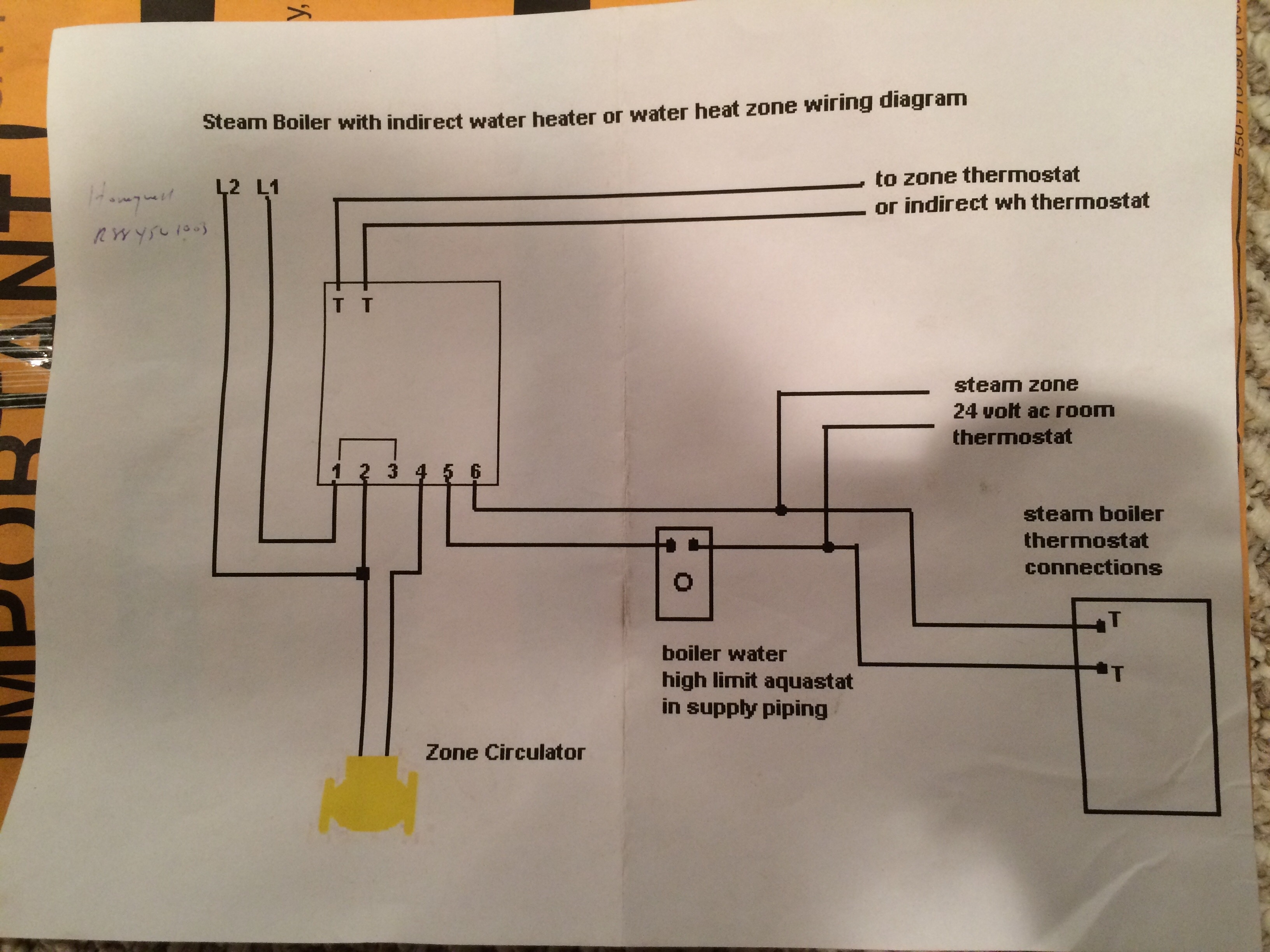 Adding Baseboard To Steam Boiler  U2014 Heating Help  The Wall
