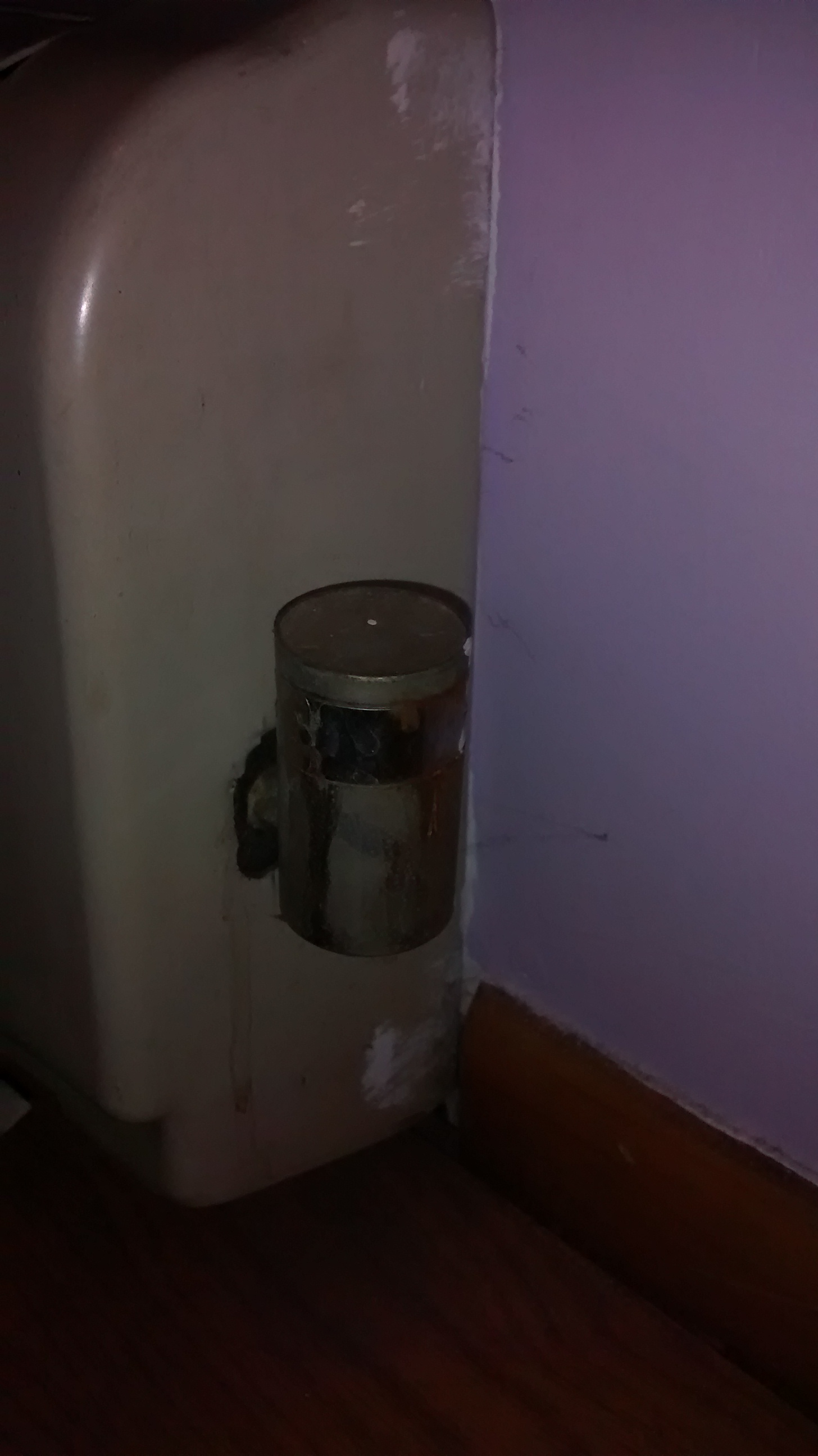 Cold Radiator Heating Help The Wall