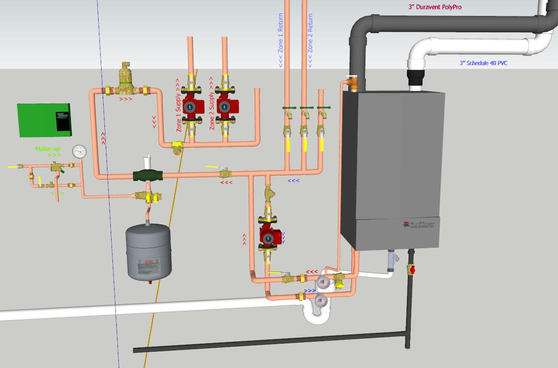 radiant floor heat in garage — Heating Help: The Wall