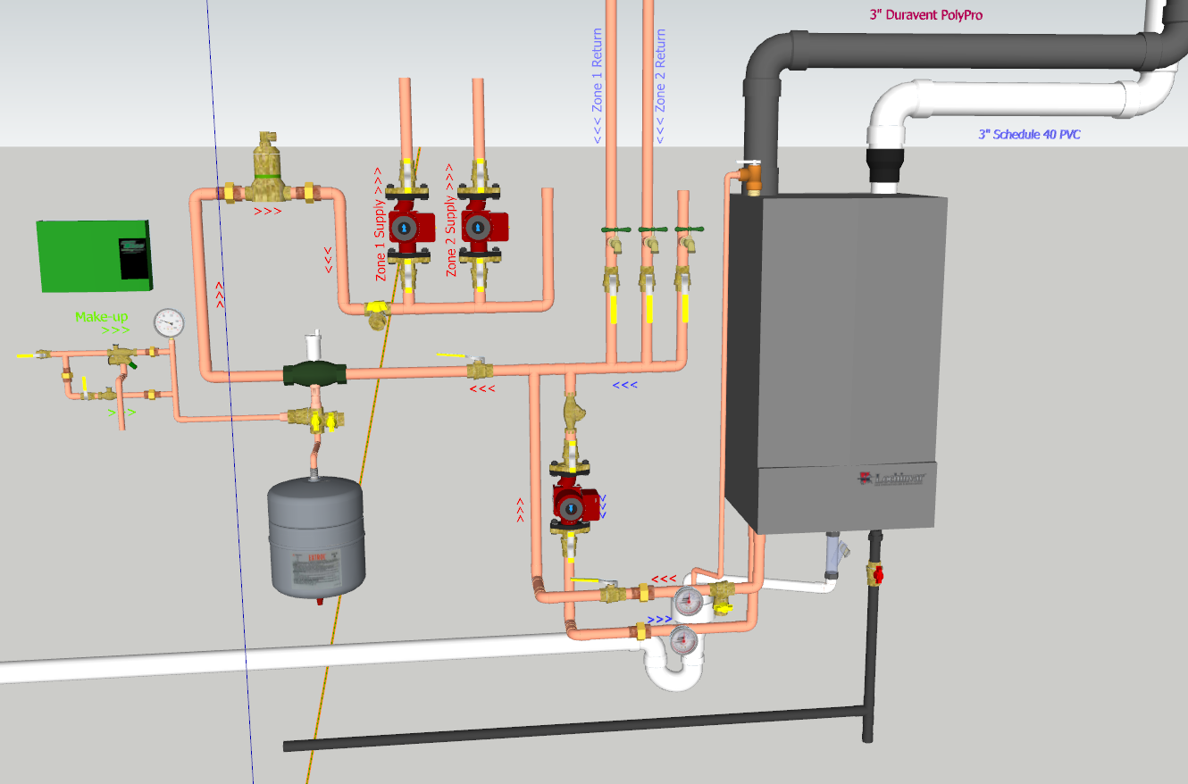 DIY Boiler Install - Opinions? — Heating Help: The Wall
