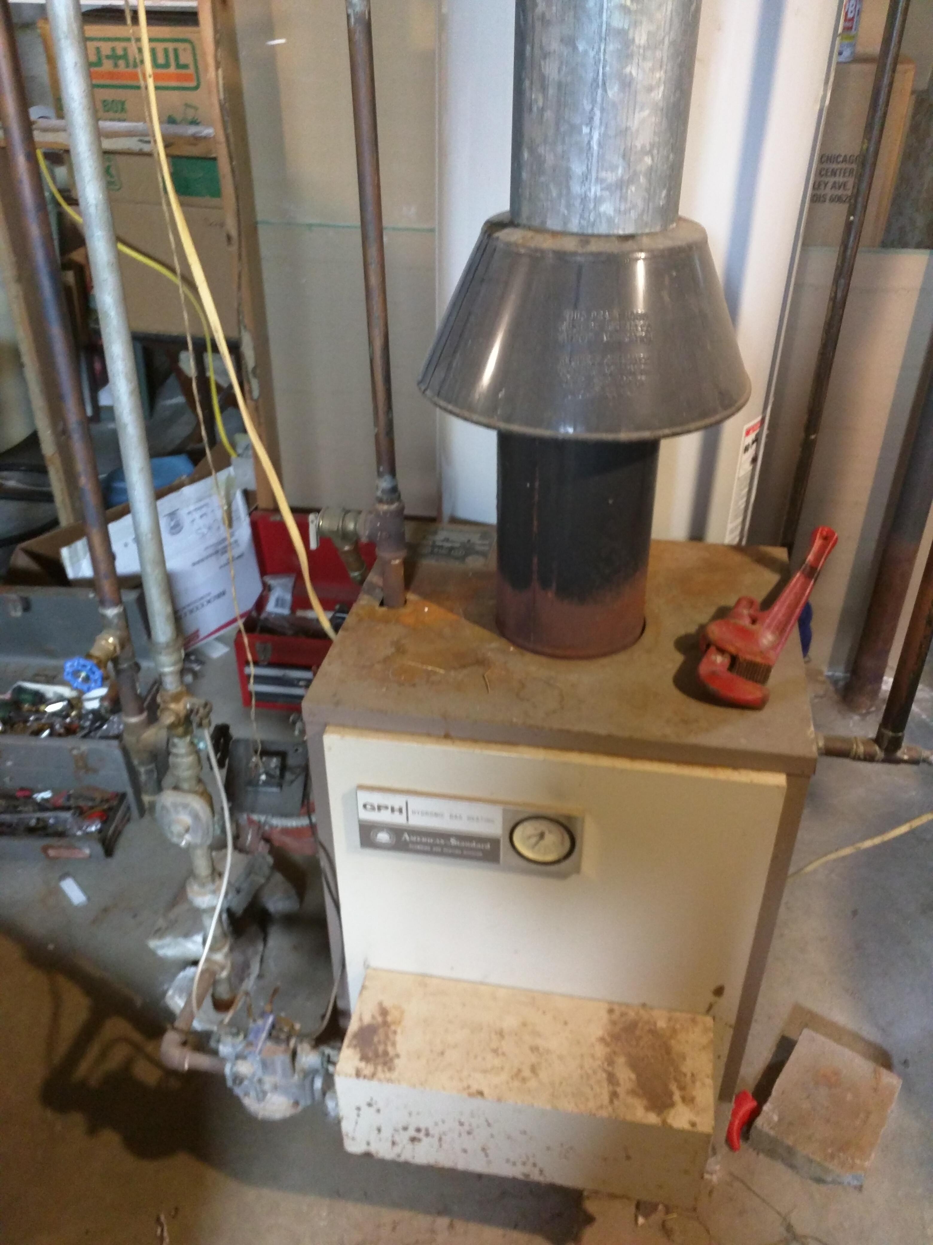 Tolle Gas Warmwasserboiler Zeitgenössisch - Schaltplan Serie Circuit ...